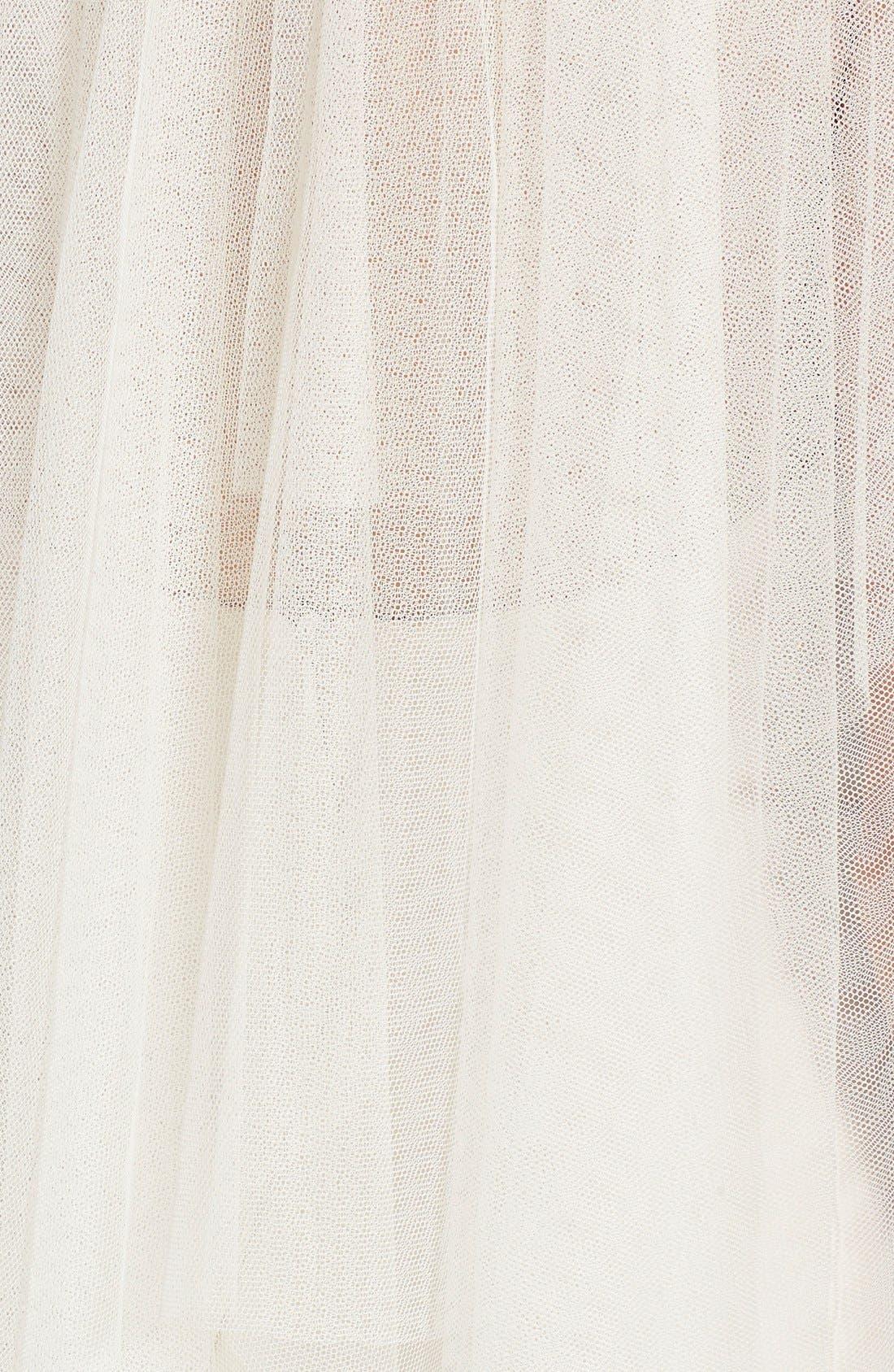 'Padma' Spanish Tulle Waltz Length Veil,                             Alternate thumbnail 2, color,                             900