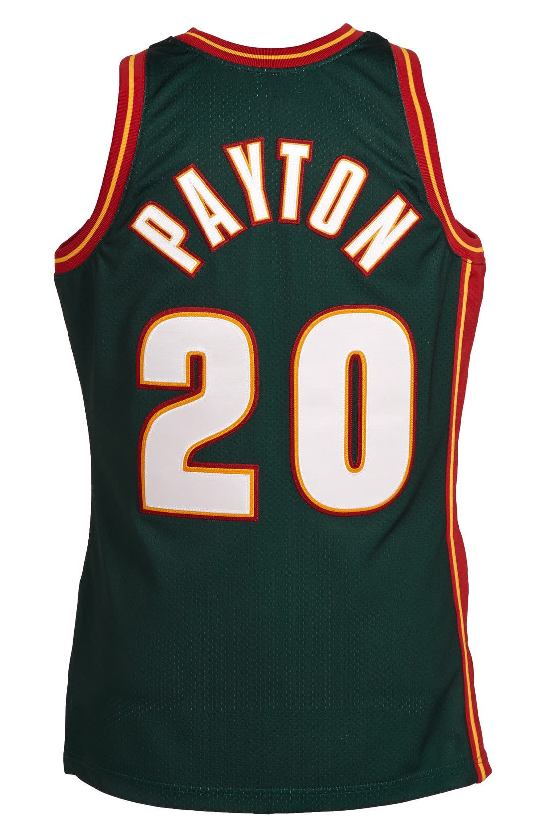 MITCHELL & NESS,                             'Seattle SuperSonics 1995-1996 - Gary Payton Authentic' Road Jersey,                             Alternate thumbnail 2, color,                             301
