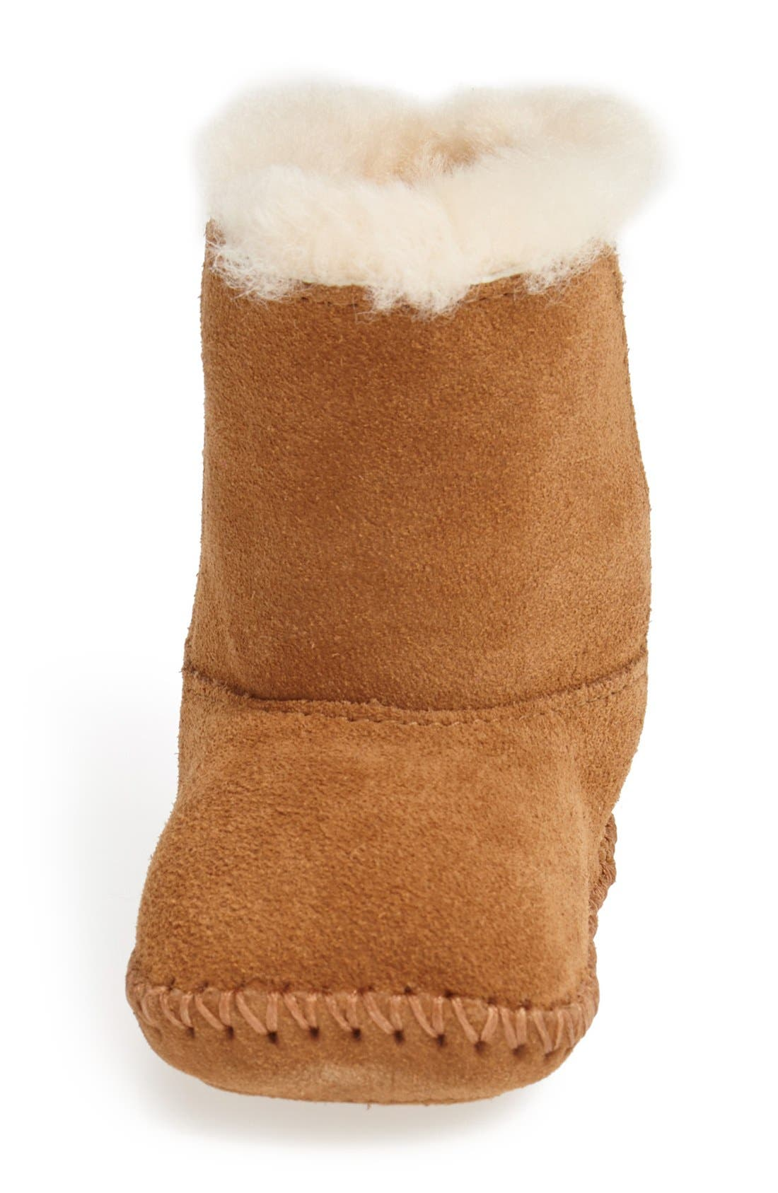 Caden Bootie,                             Alternate thumbnail 3, color,                             CHESTNUT