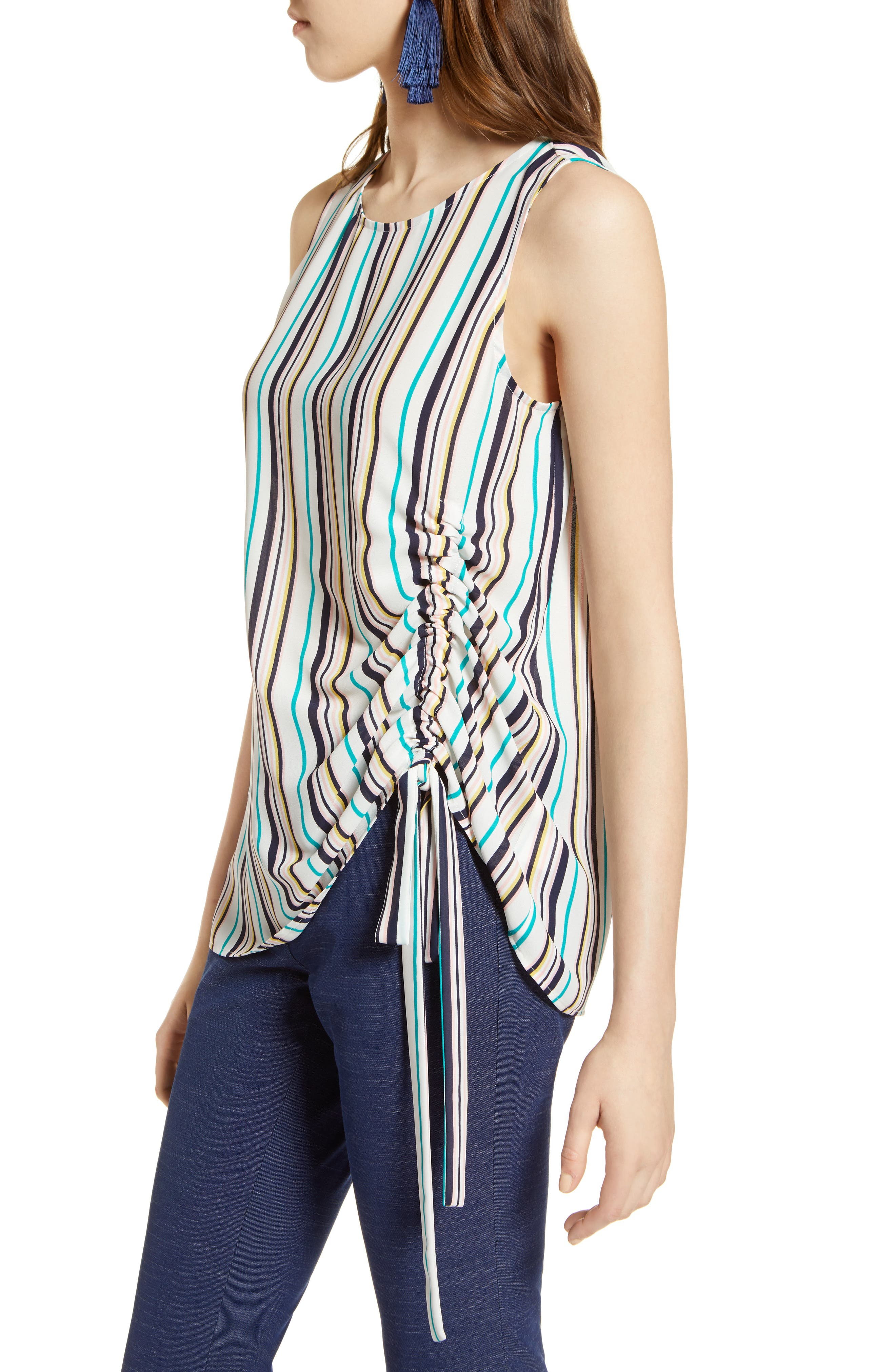Side Ruched Top,                             Alternate thumbnail 11, color,
