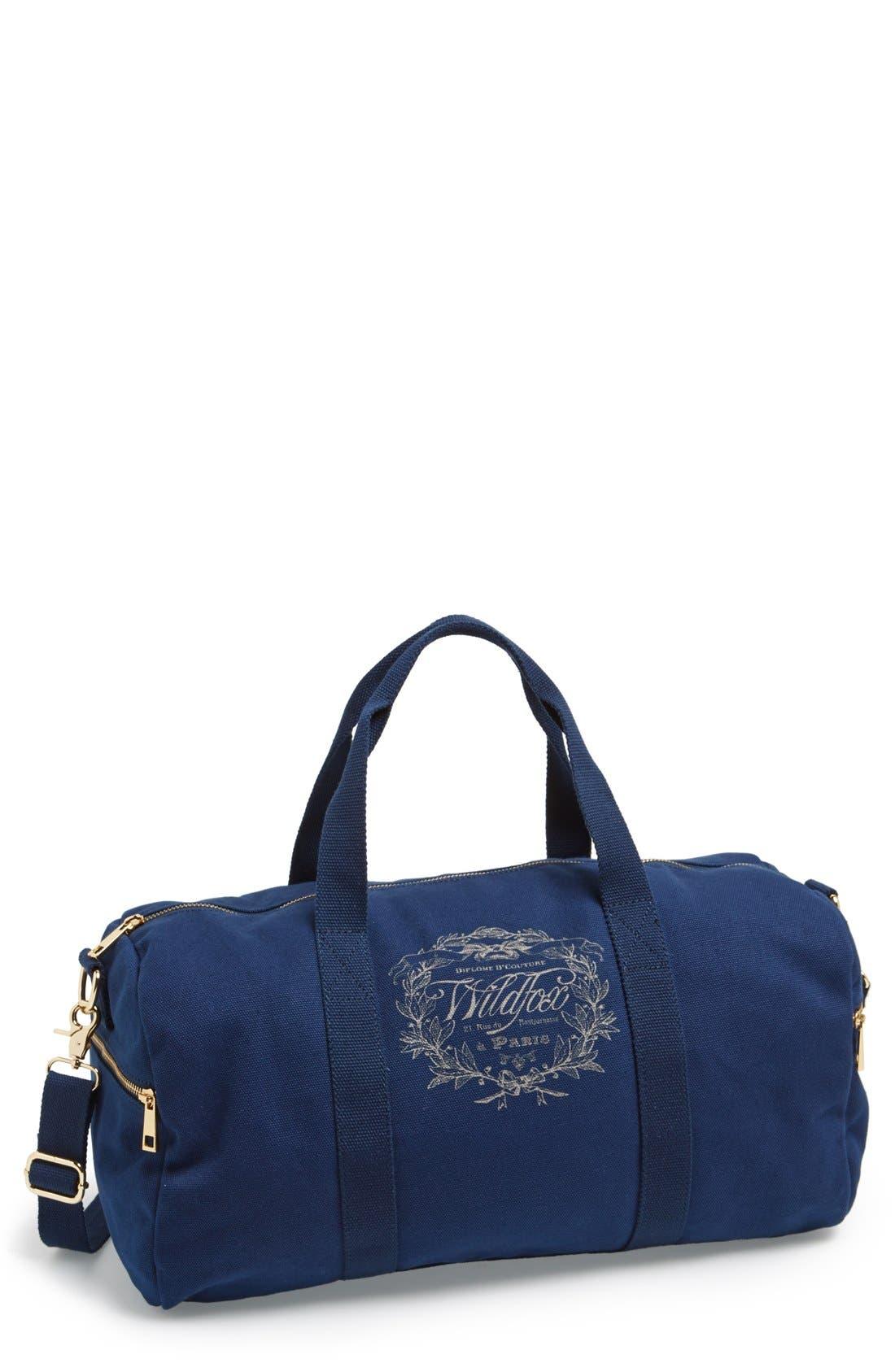 Logo Gym Bag,                         Main,                         color, 400