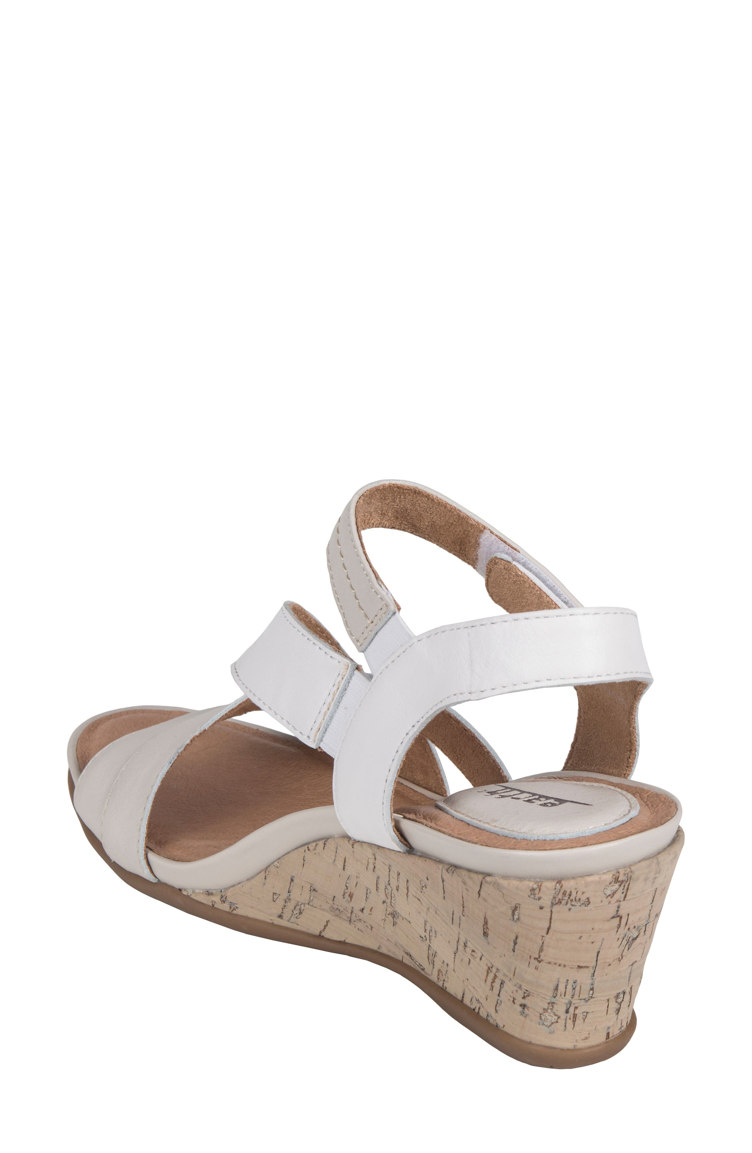 Thistle Wedge Sandal,                             Alternate thumbnail 6, color,