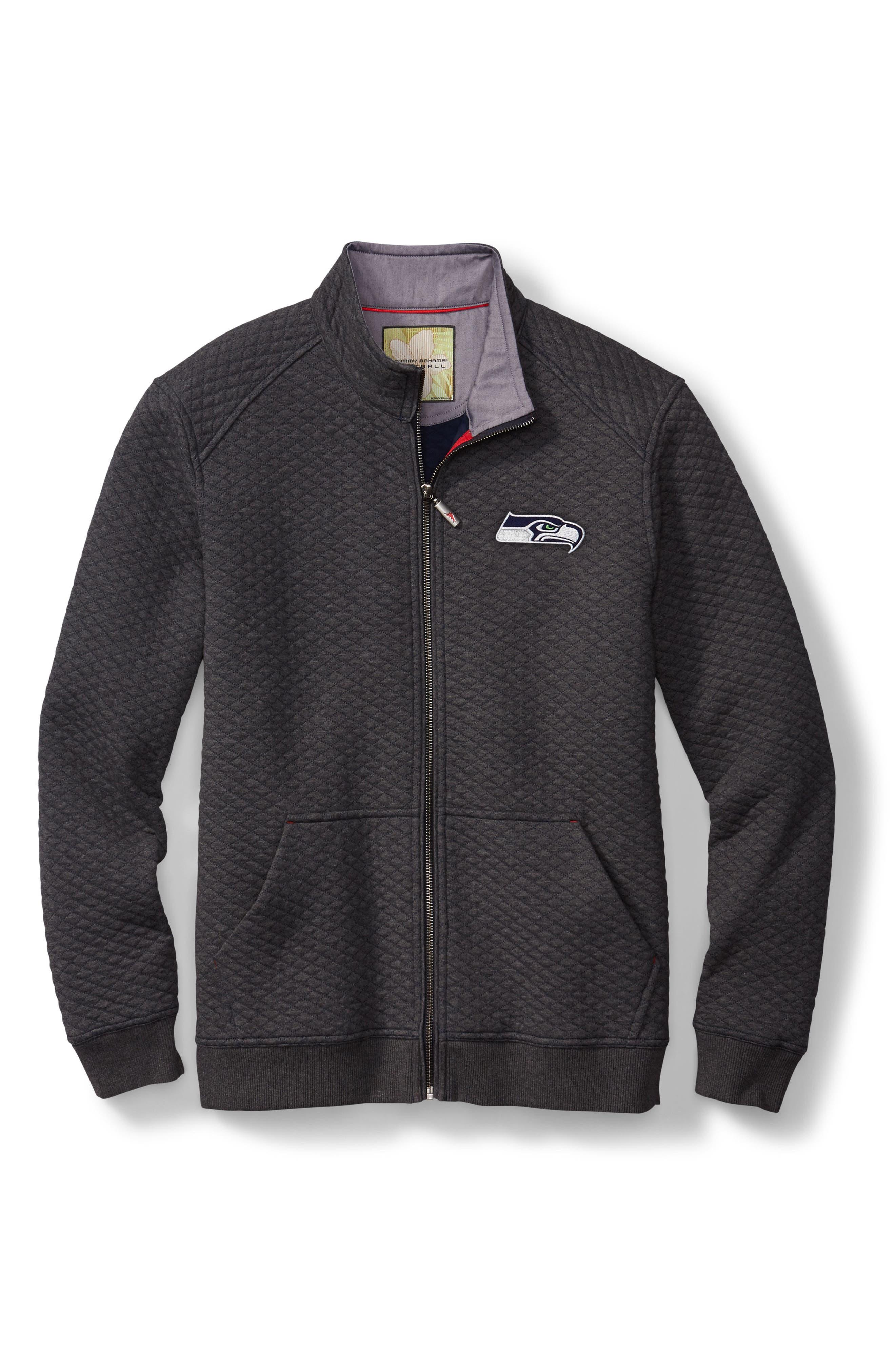 NFL Quiltessential Full Zip Sweatshirt,                             Alternate thumbnail 182, color,