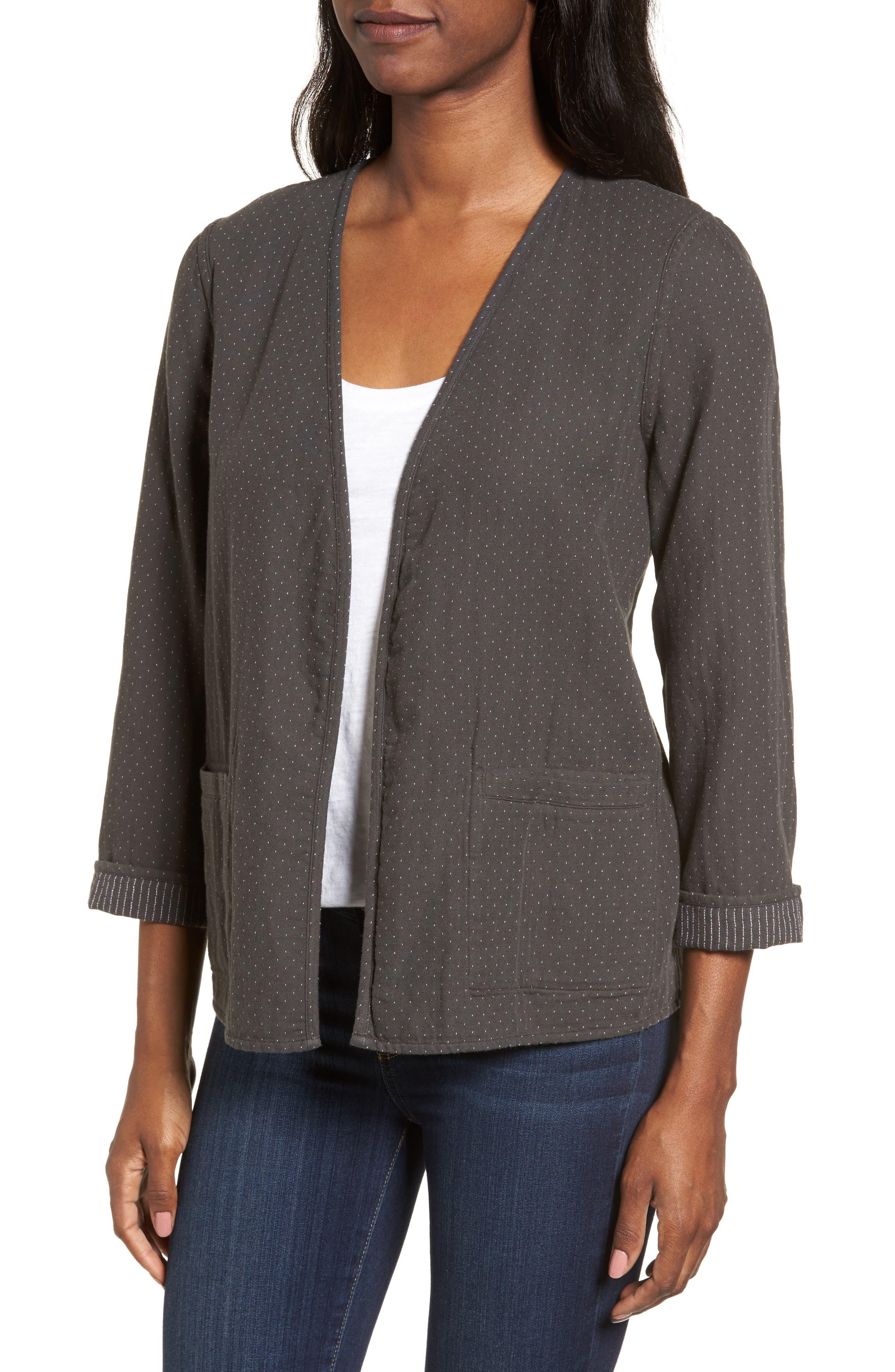 Reversible Organic Cotton Jacket,                             Alternate thumbnail 4, color,                             210