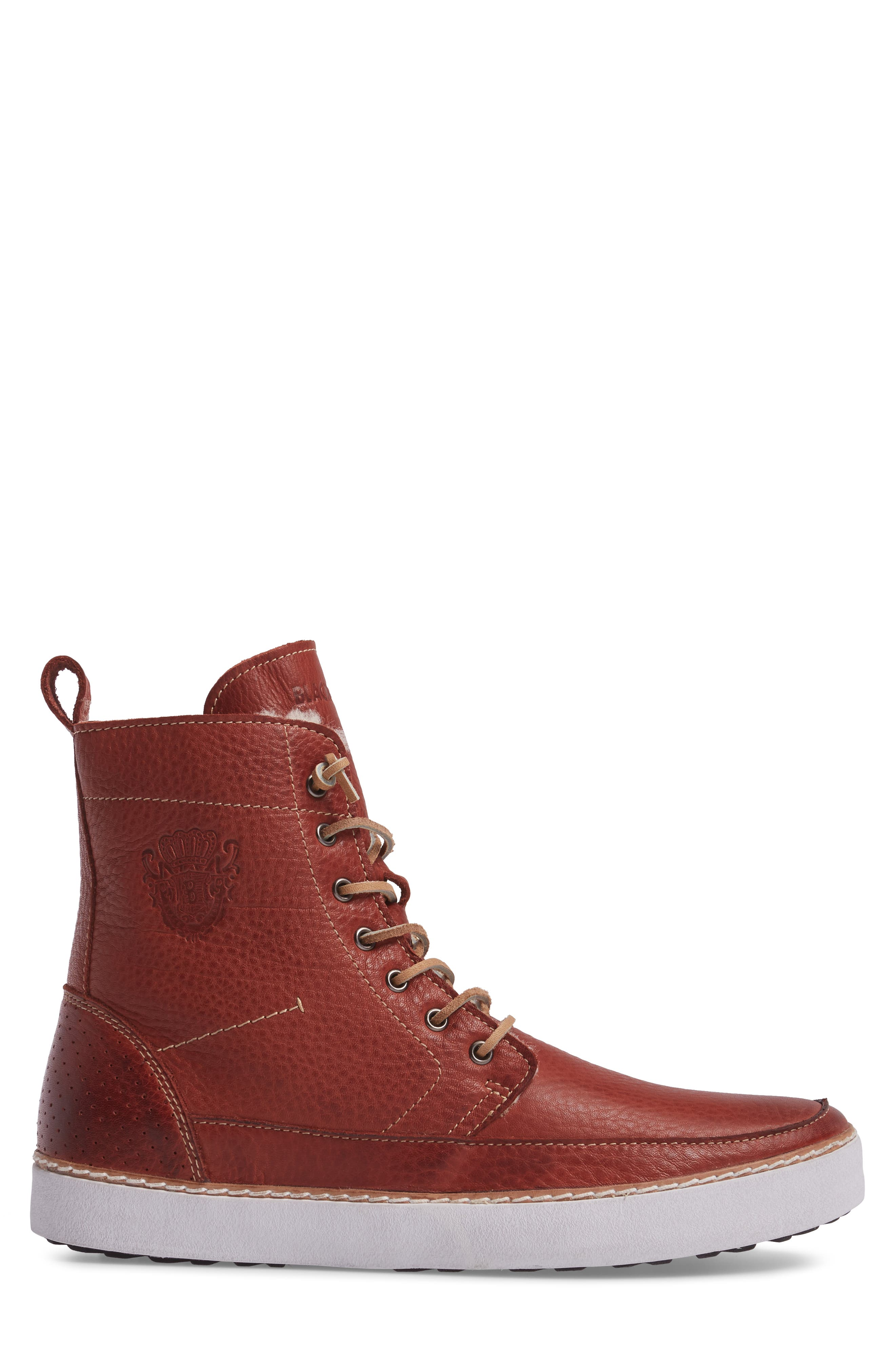 BLACKSTONE,                             'AM 32' Shearling Lined Boot,                             Alternate thumbnail 3, color,                             200