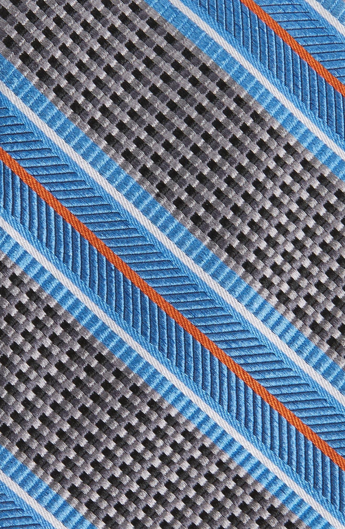 Textured Stripes Silk Tie,                             Alternate thumbnail 2, color,                             025