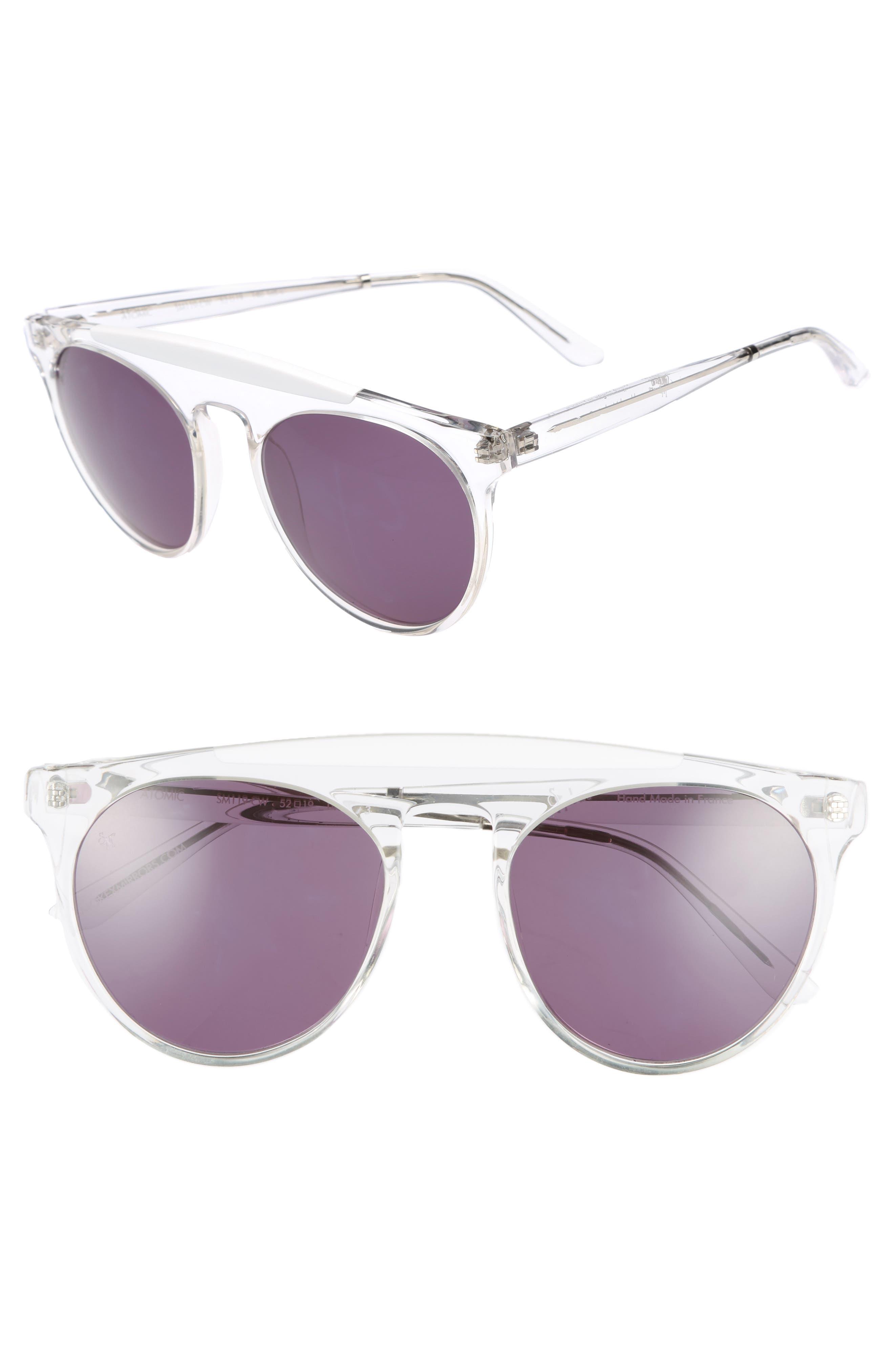 Atomic 52mm Sunglasses,                             Main thumbnail 2, color,
