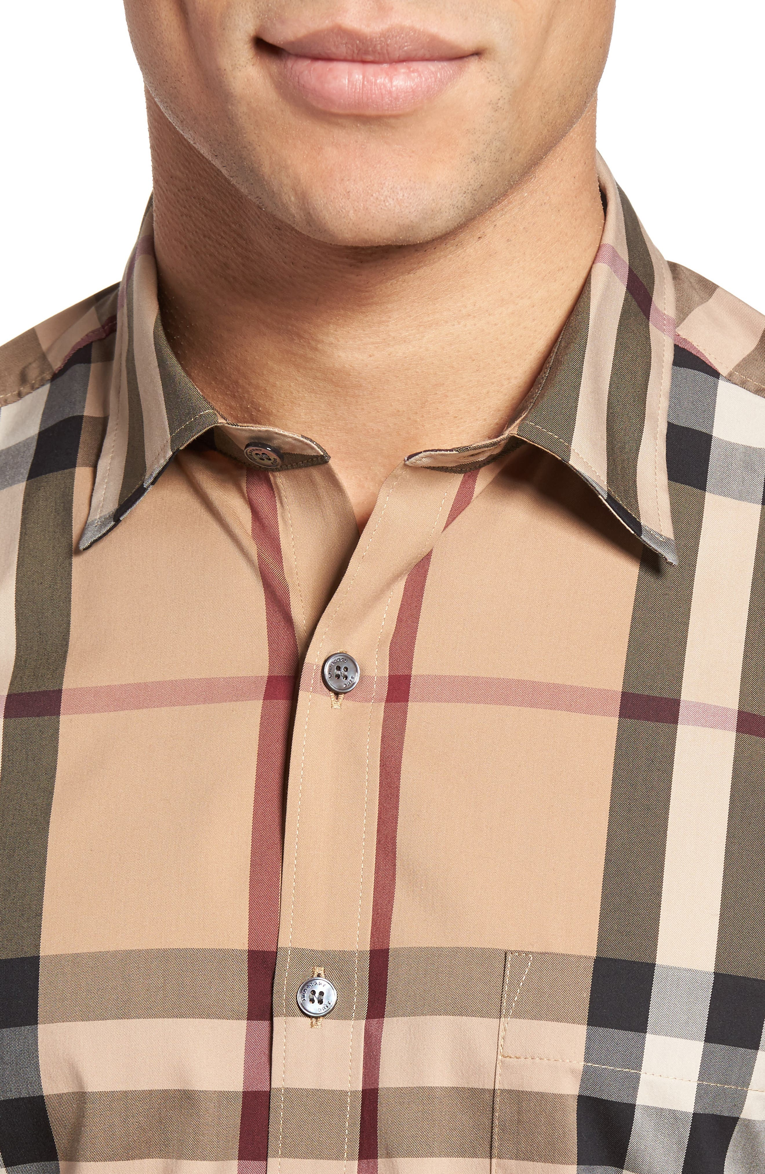 Nelson Check Sport Shirt,                             Alternate thumbnail 81, color,