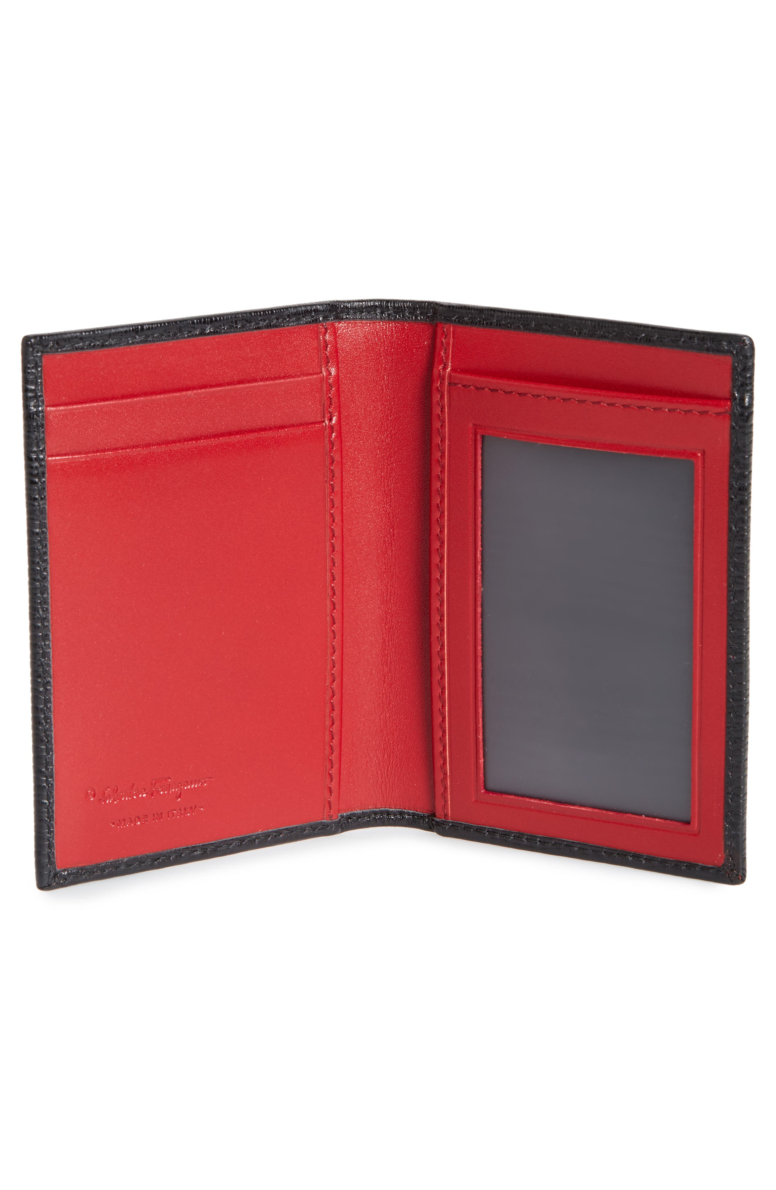 Revival Leather Folding Card Case,                             Alternate thumbnail 2, color,