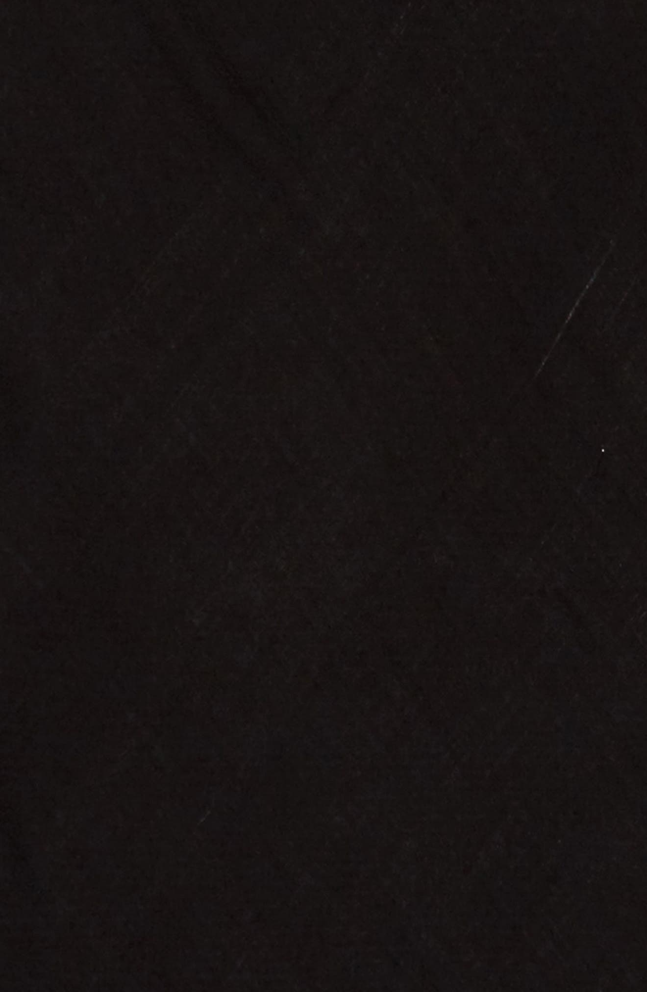 Fringe Triangle Scarf,                             Alternate thumbnail 3, color,                             001
