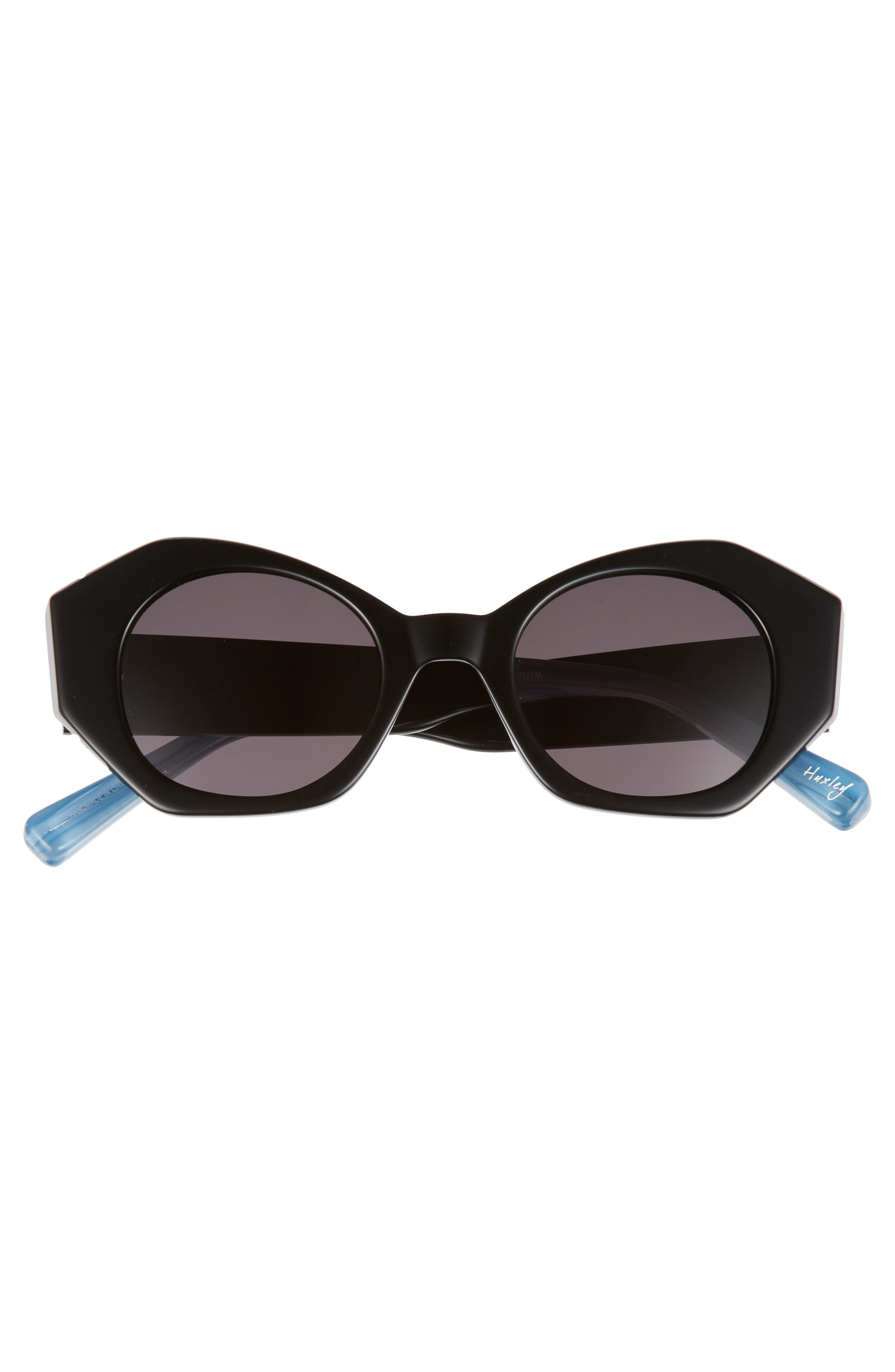 Huxley 46mm Geometric Sunglasses,                             Alternate thumbnail 5, color,