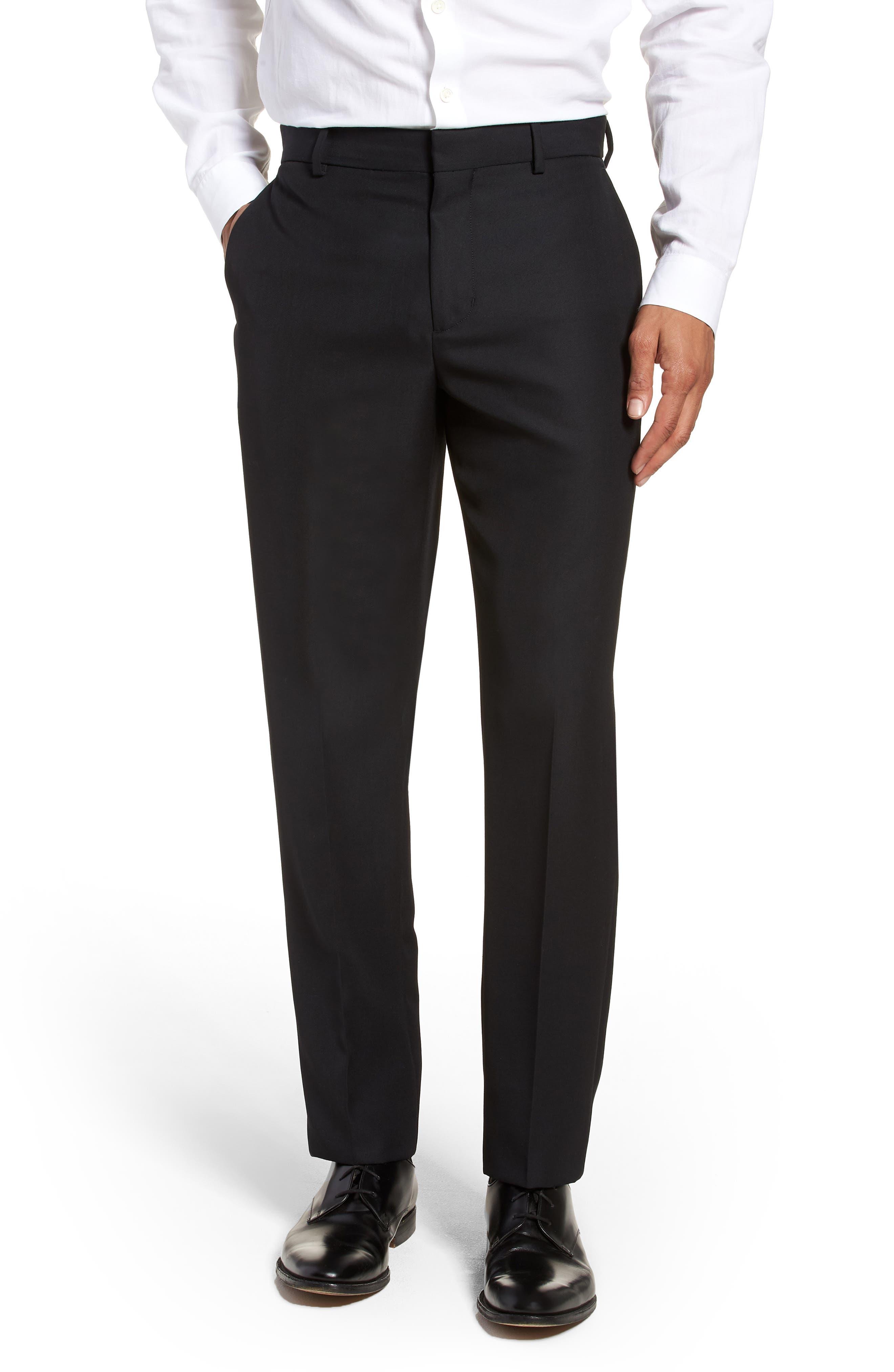 Classic Slim Fit Trousers,                             Main thumbnail 1, color,                             400