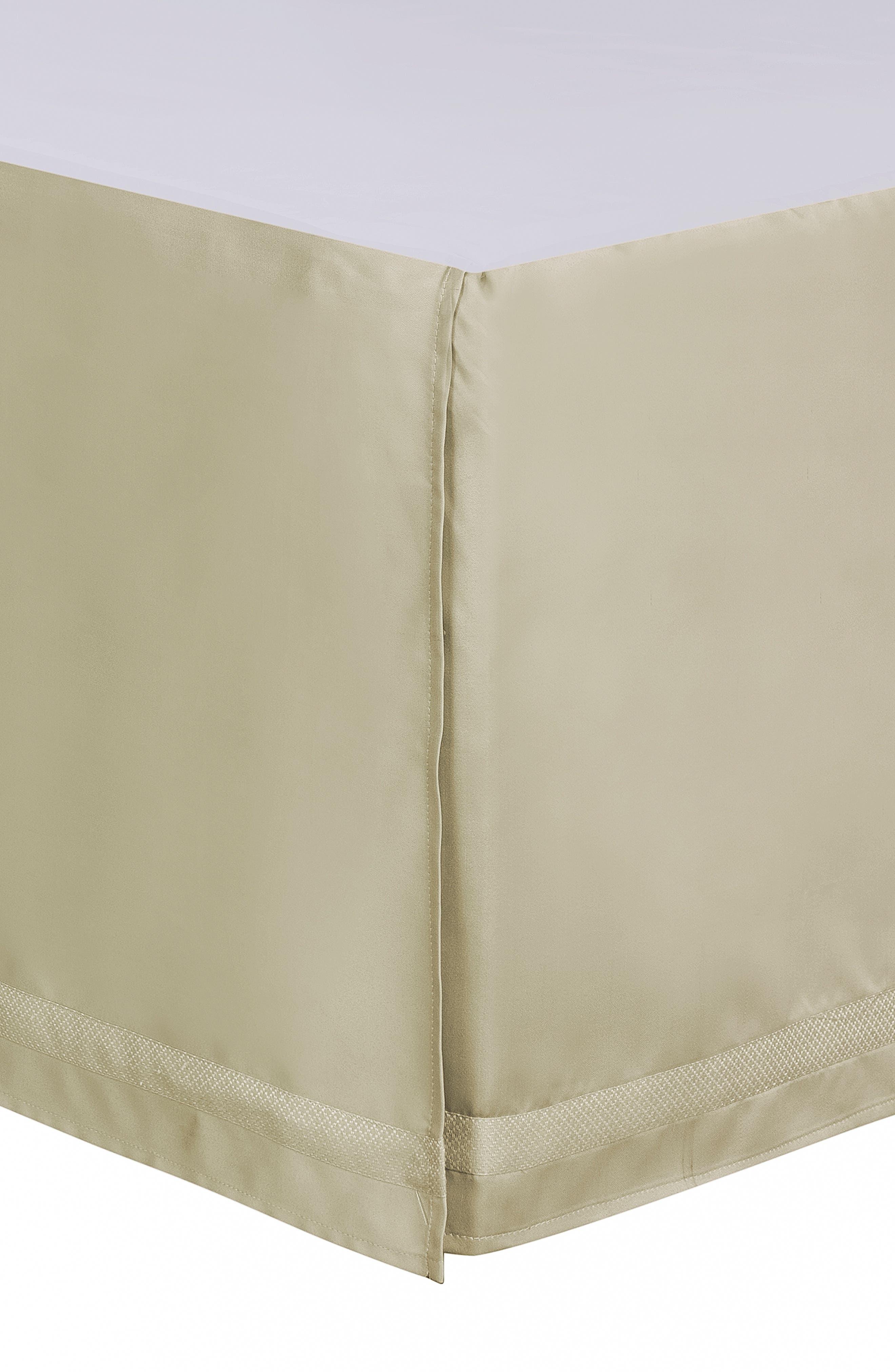 Annalise Reversible Comforter, Sham & Bed Skirt Set,                             Alternate thumbnail 7, color,                             GOLD