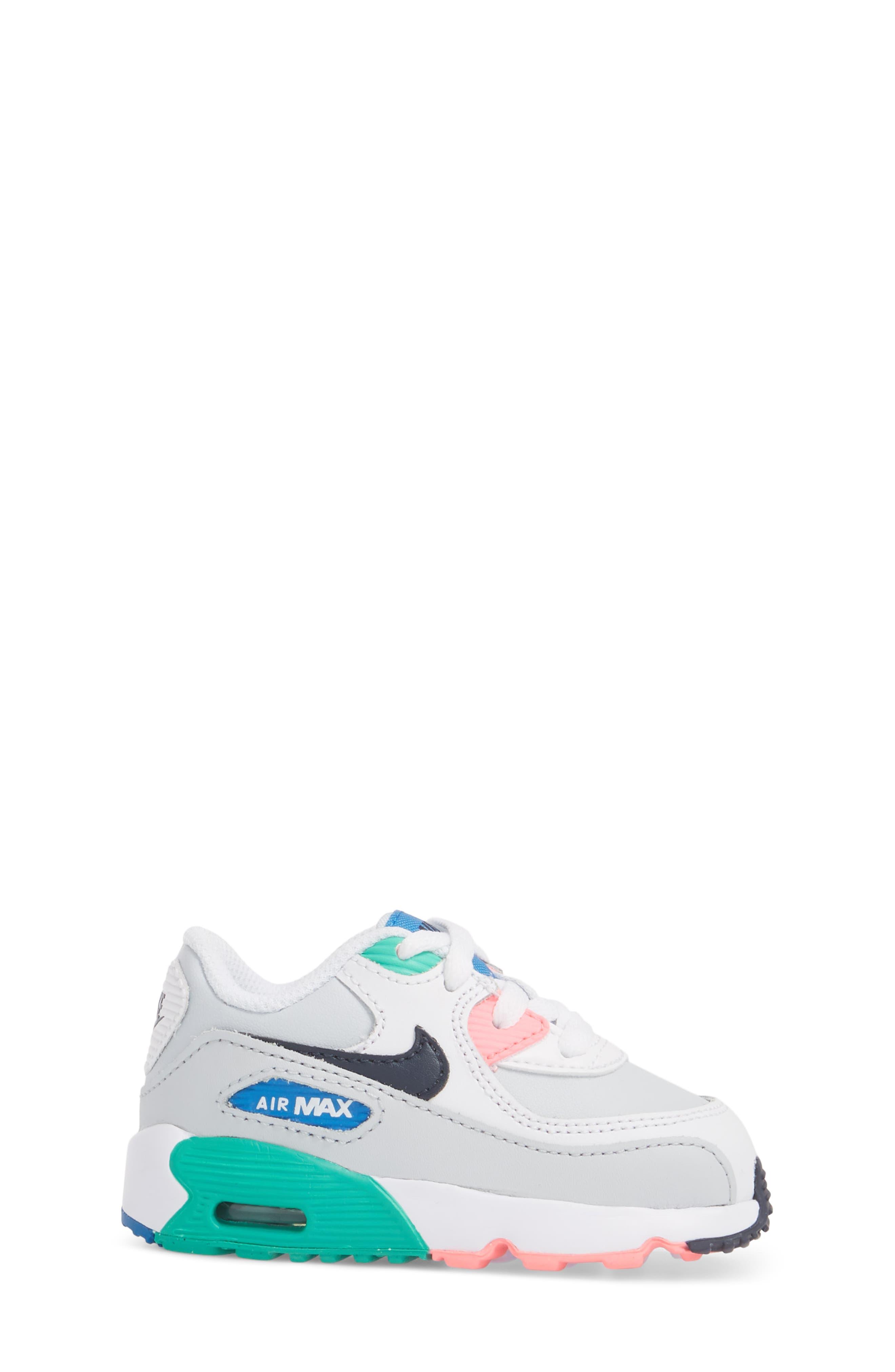 Air Max 90 Sneaker,                             Alternate thumbnail 7, color,