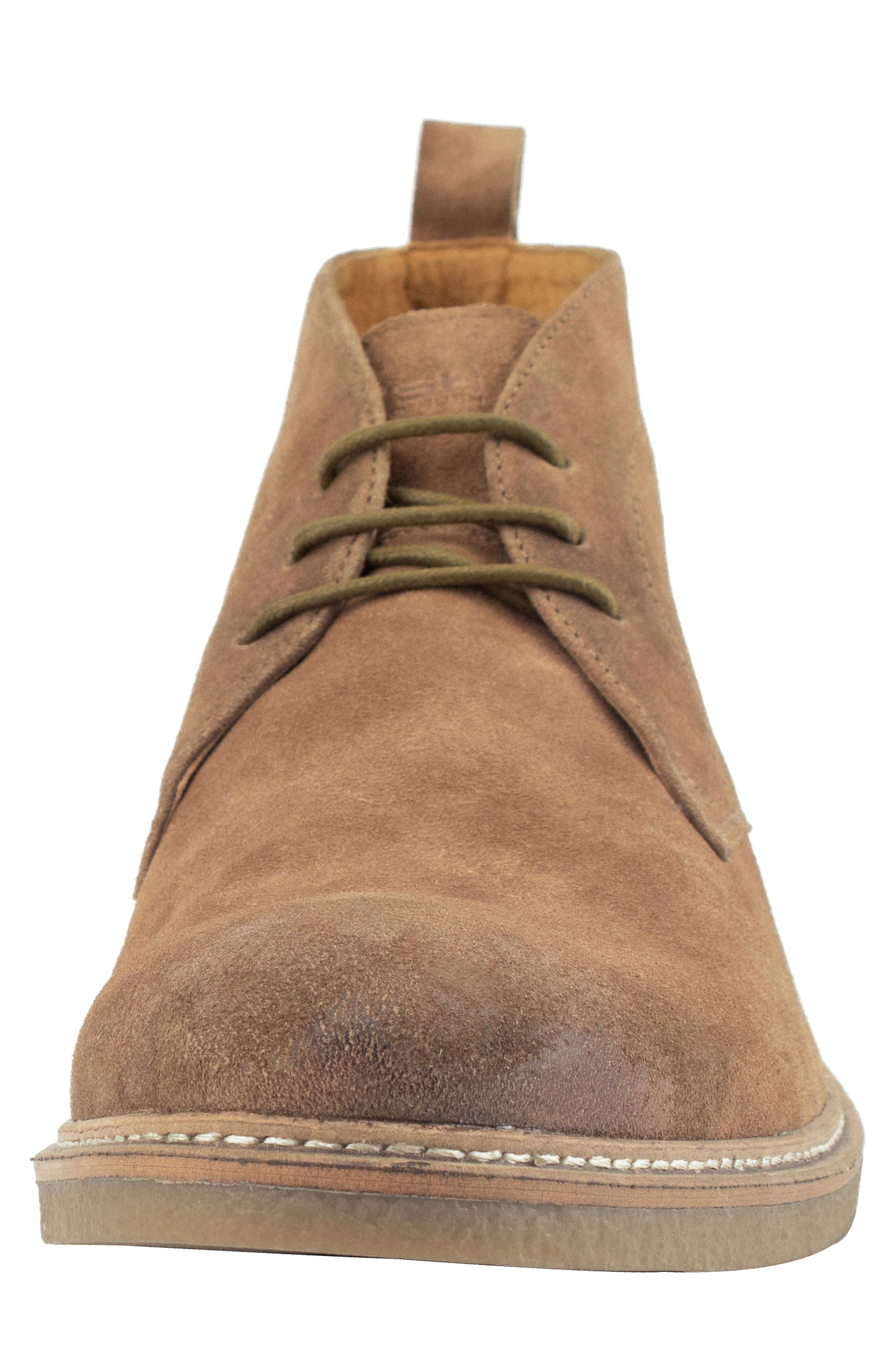 Albert Chukka Boot,                             Alternate thumbnail 4, color,                             TAN SUEDE