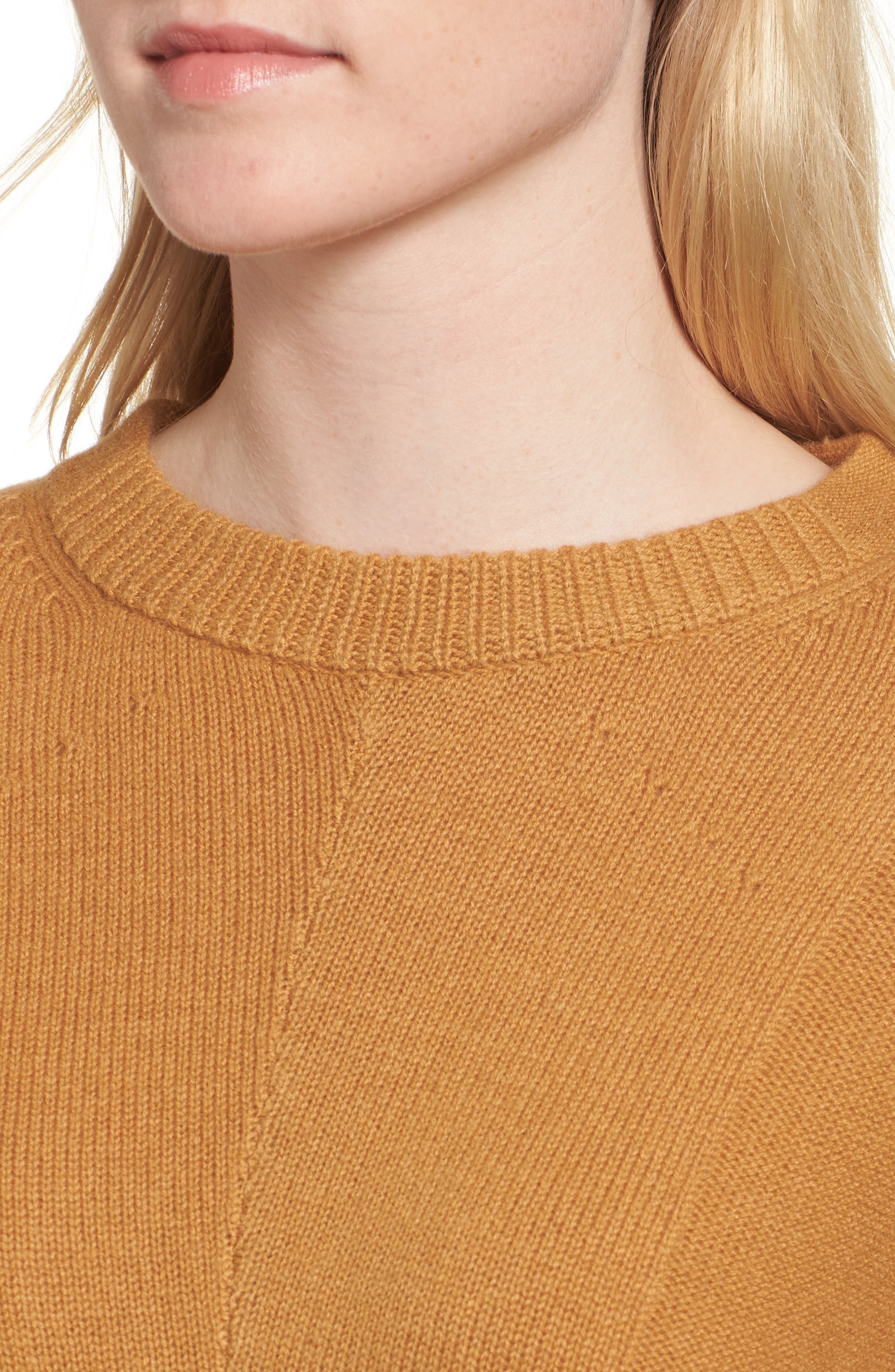 Joanna Wool & Cashmere Sweater,                             Alternate thumbnail 4, color,                             200