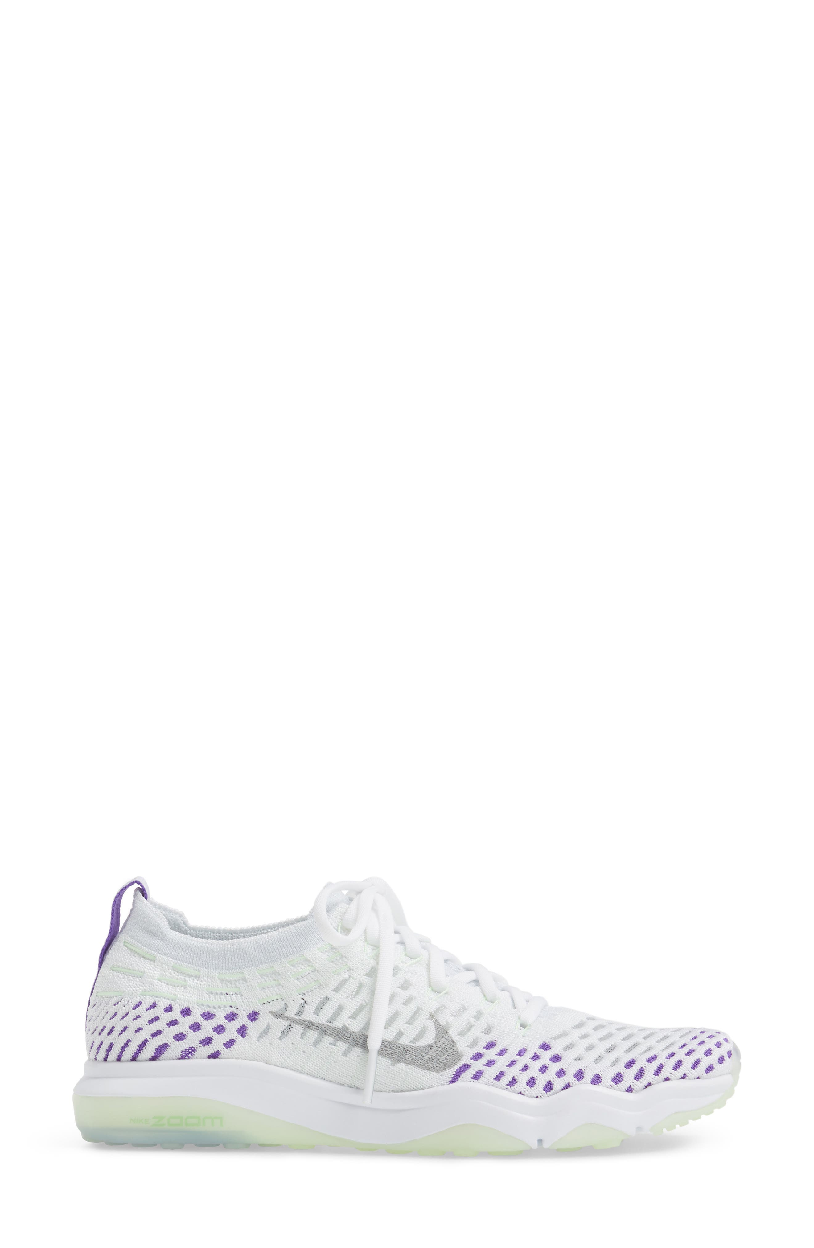 Air Zoom Fearless Flyknit Training Shoe,                             Alternate thumbnail 30, color,