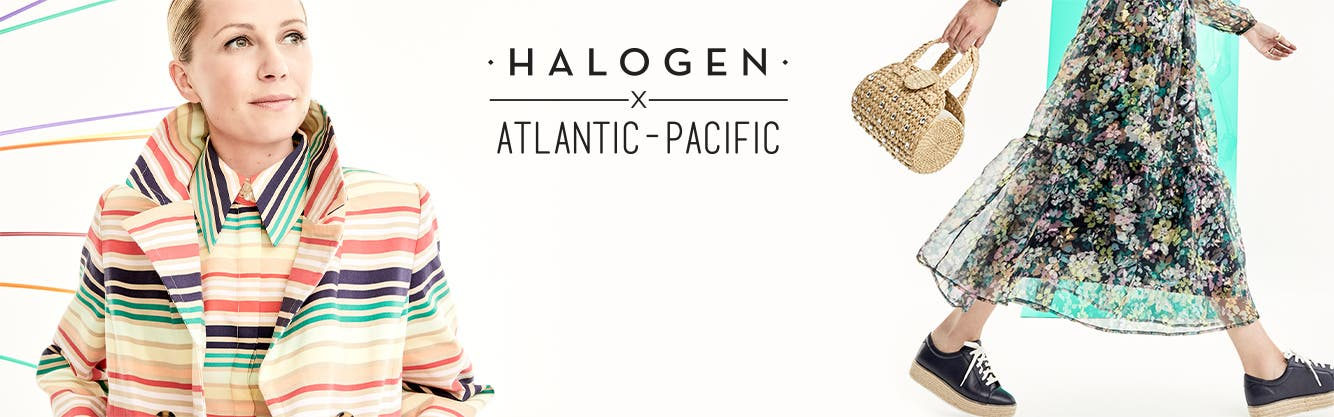 30% off new arrivals from Halogen x Atlantic-Pacific. Introducing a very Blair Eadie take on spring, designed in collaboration with the Atlantic-Pacific style icon and Halogen.