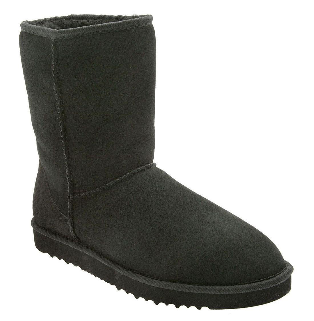 Classic Short Boot,                         Main,                         color, BLACK