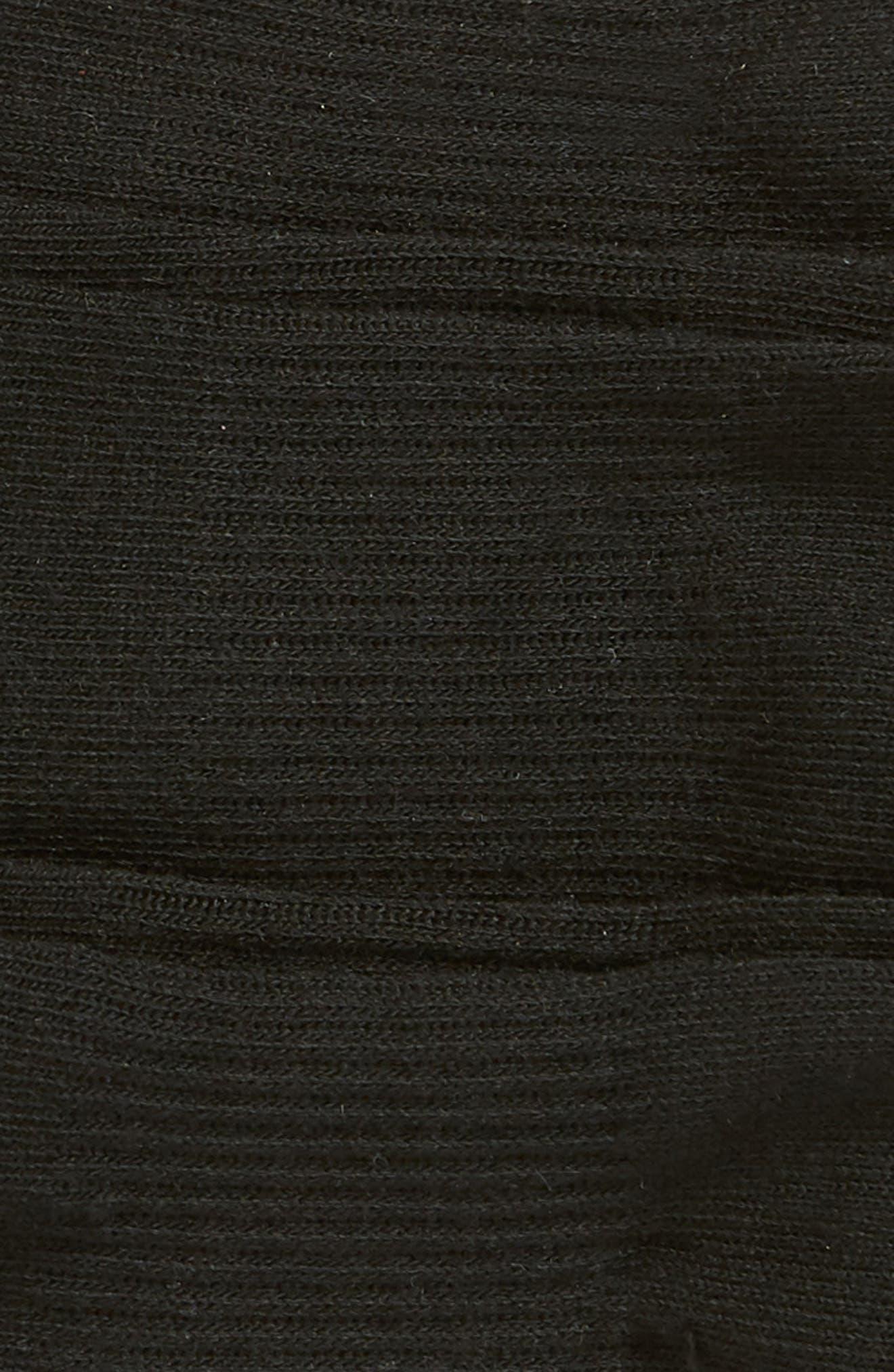 Originals 3-Pack Ankle Socks,                             Alternate thumbnail 2, color,                             BLACK