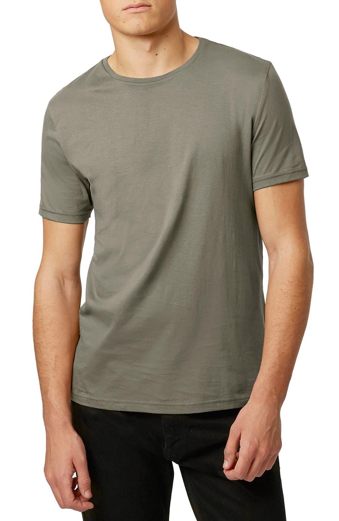 Slim Fit Crewneck T-Shirt,                             Main thumbnail 47, color,