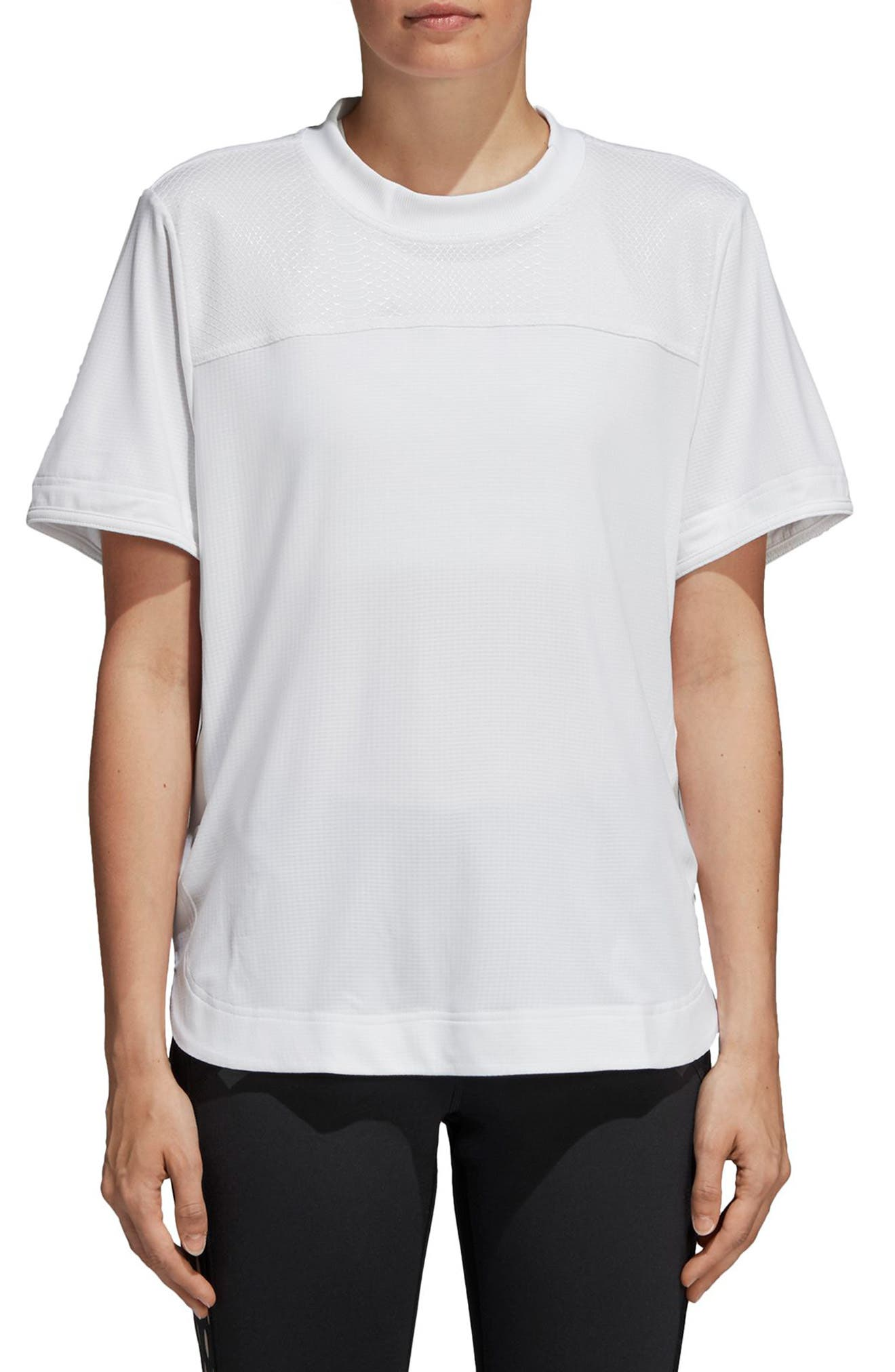 Train CLIMACHILL<sup>™</sup> Tee,                         Main,                         color, WHITE
