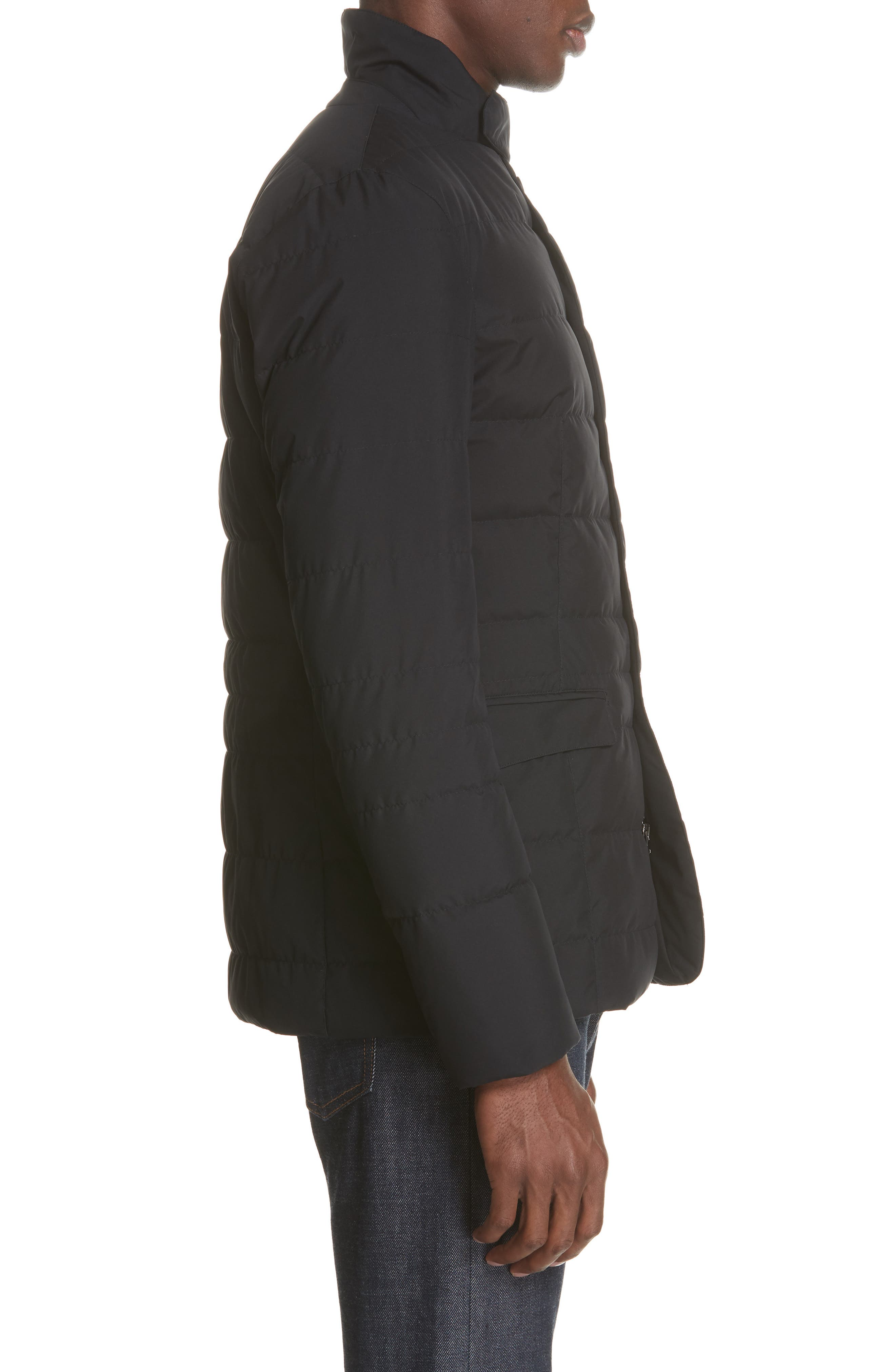 Gore-Tex<sup>®</sup> Windstopper Down Jacket,                             Alternate thumbnail 3, color,                             001