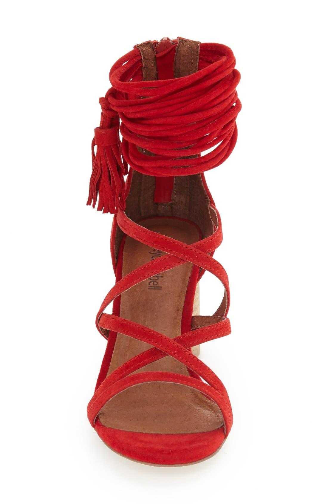 'Despina' Strappy Sandal,                             Alternate thumbnail 21, color,