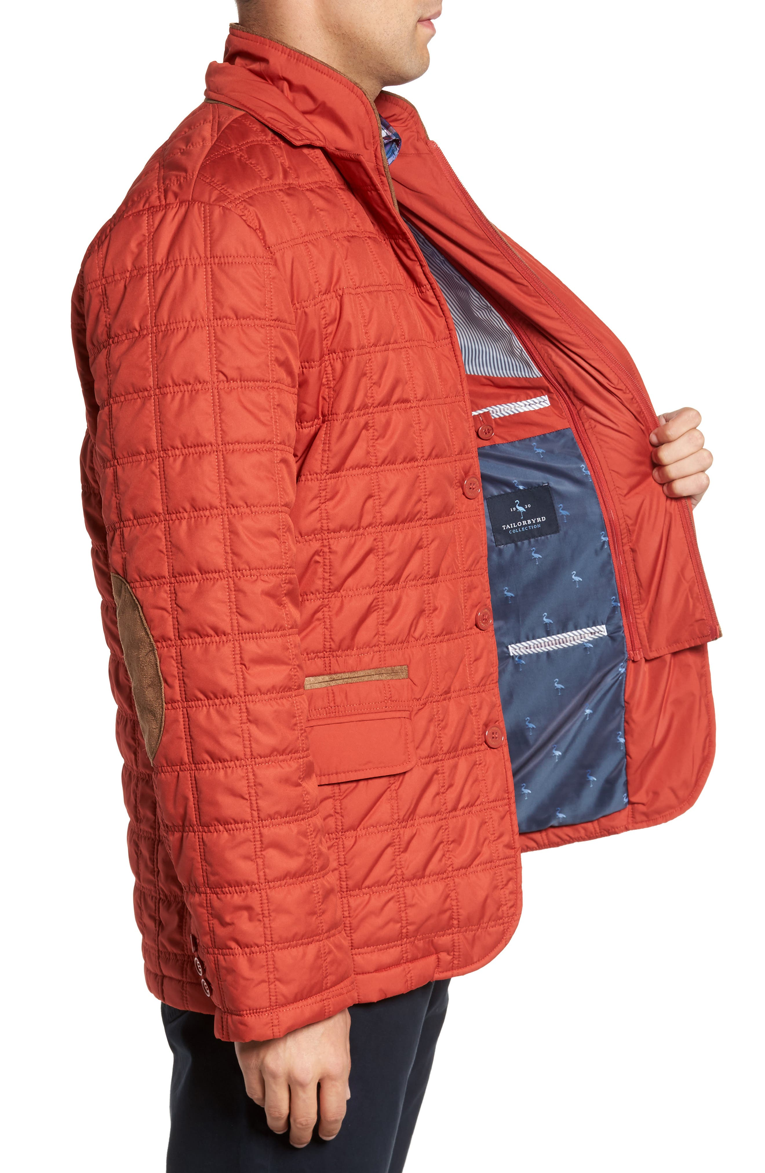 Iota Quilted Jacket,                             Alternate thumbnail 3, color,
