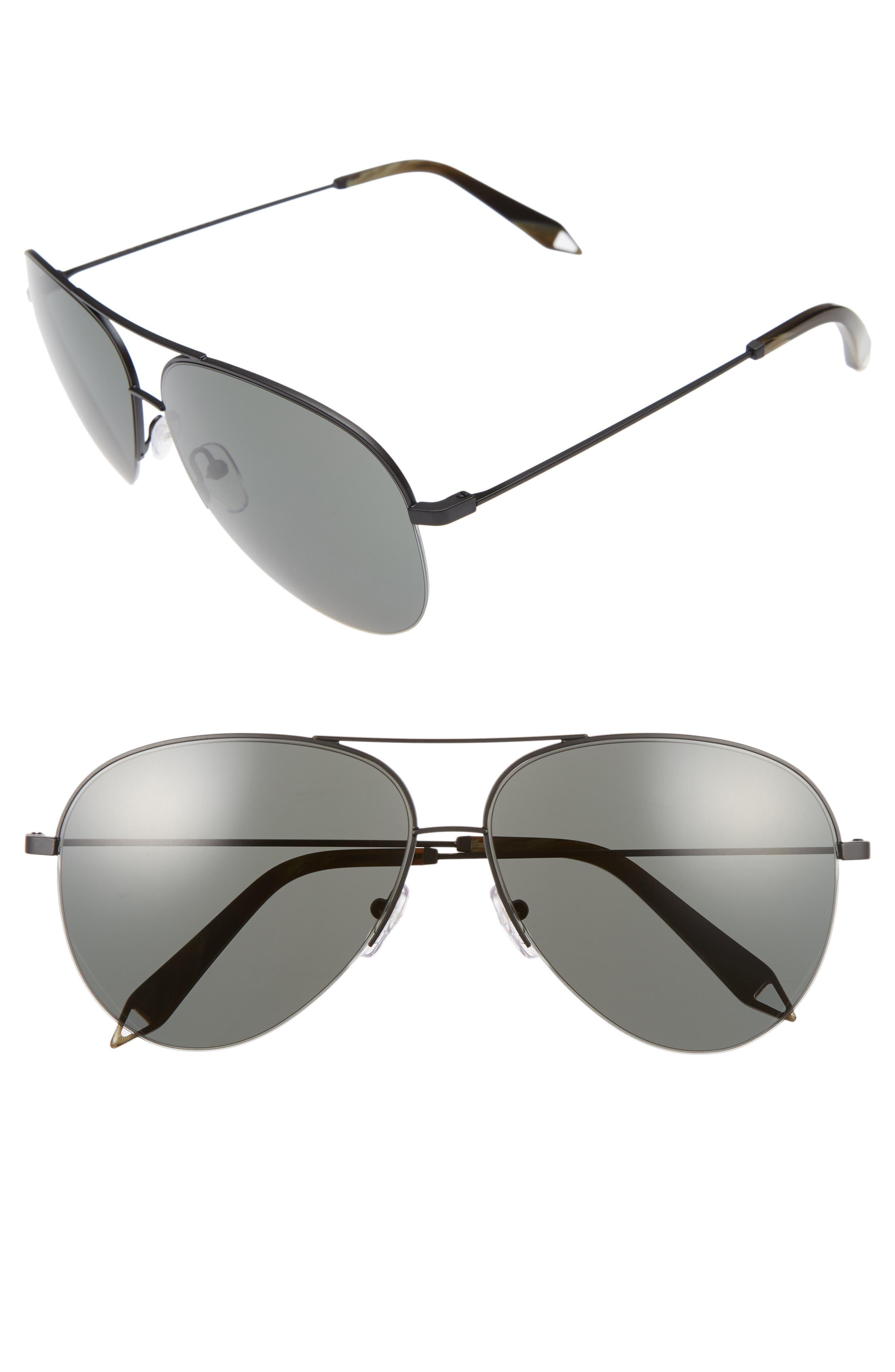 Classic Victoria 62mm Sunglasses,                             Main thumbnail 1, color,                             001