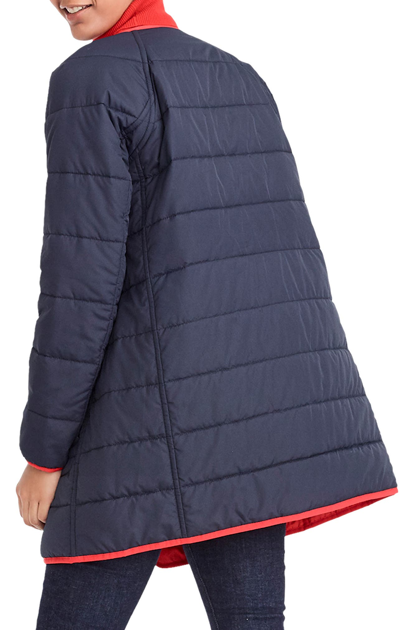 Reversible Puffer Jacket,                             Alternate thumbnail 3, color,                             400