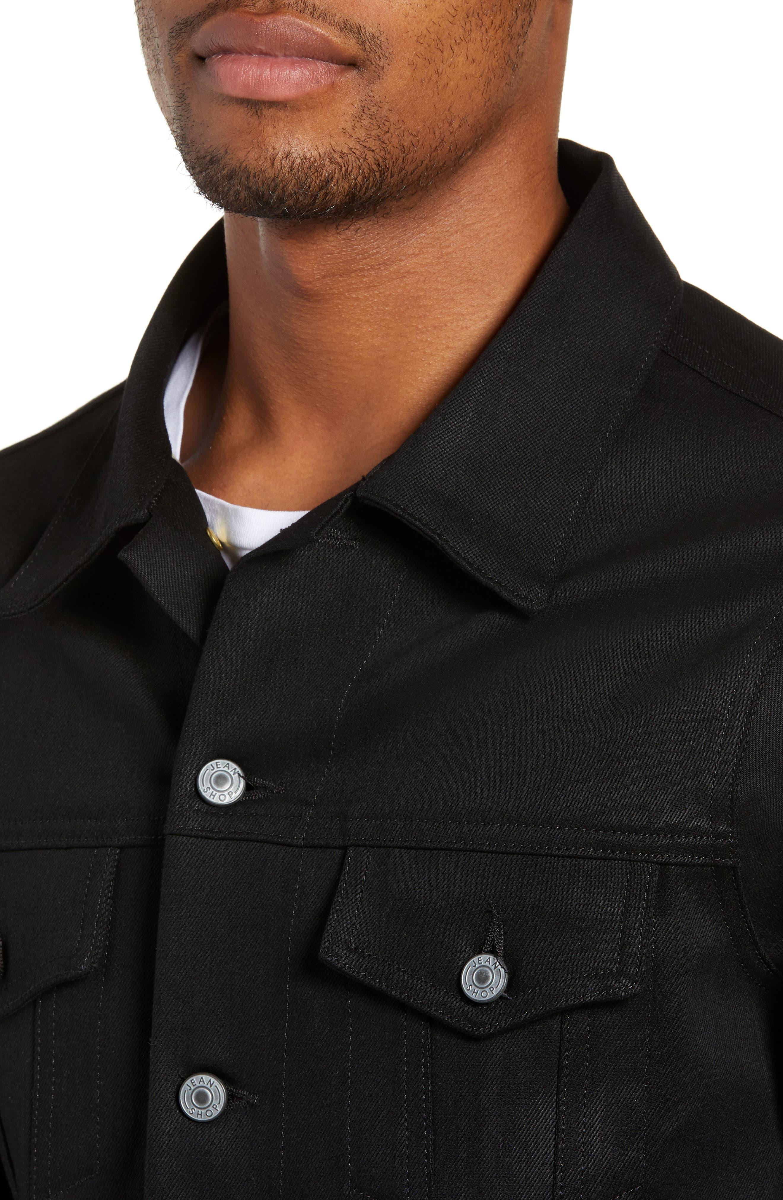 Lou Denim Jacket,                             Alternate thumbnail 4, color,                             RAW