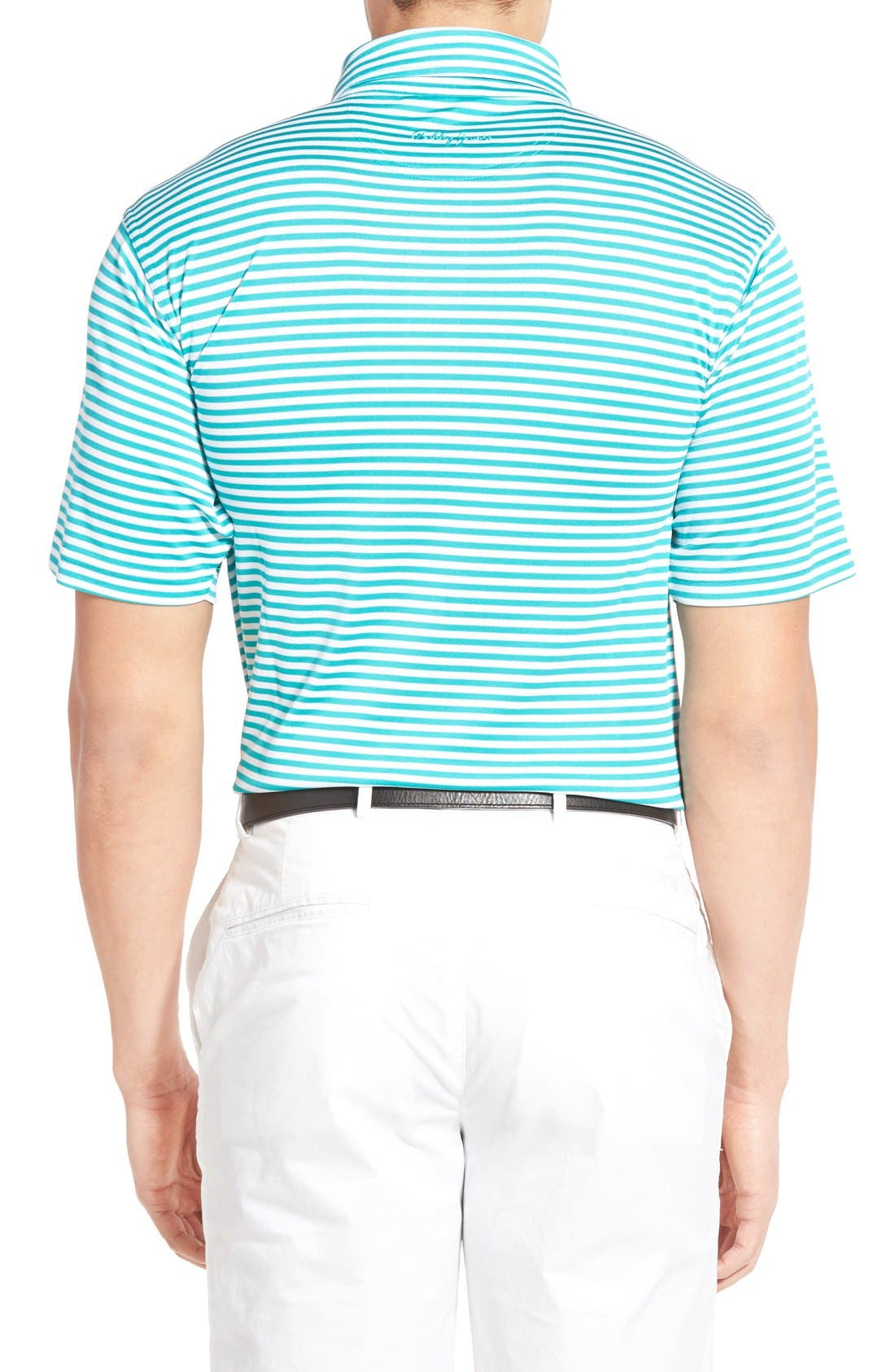 XH2O Feed Stripe Stretch Golf Polo,                             Alternate thumbnail 26, color,