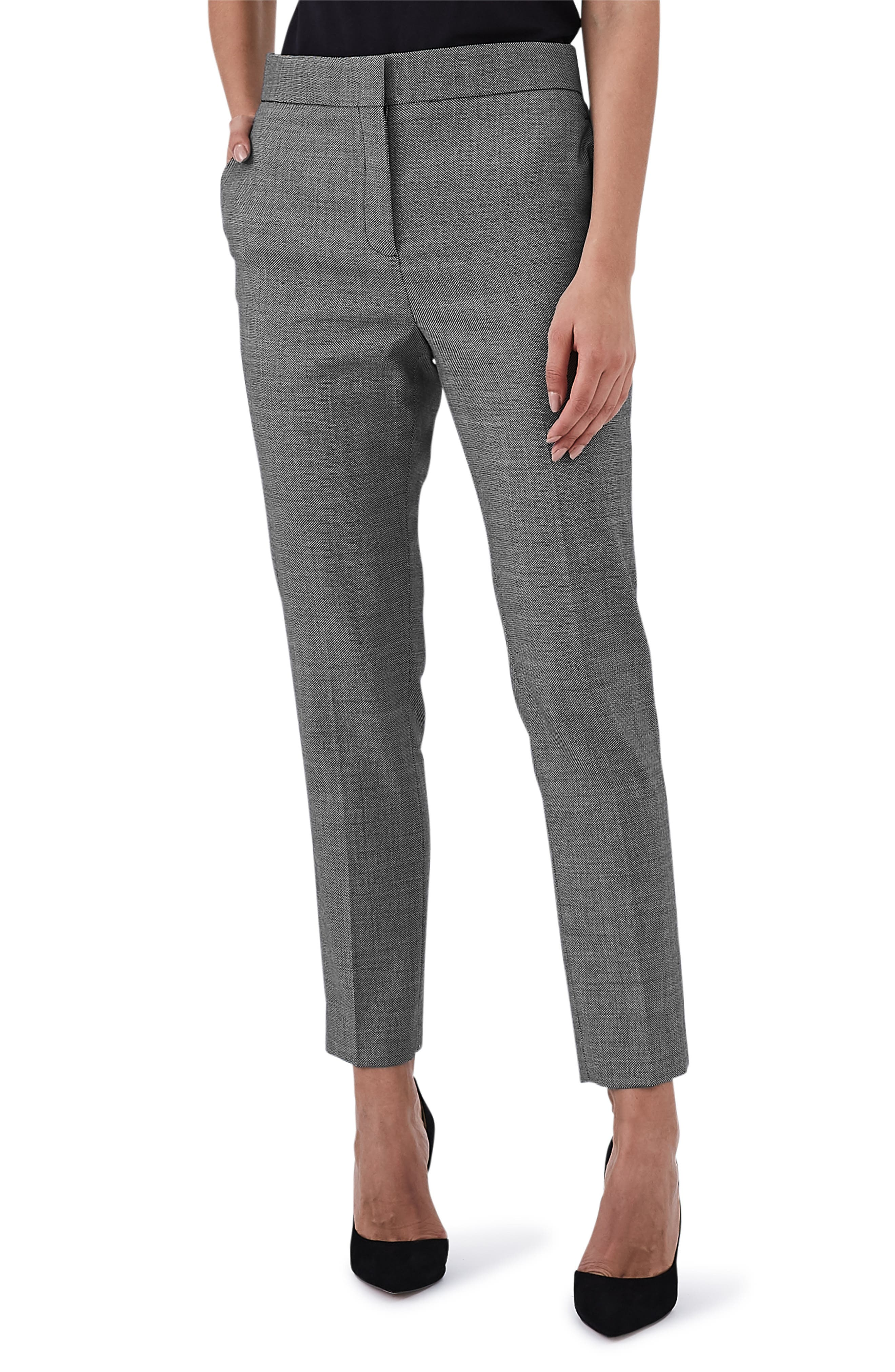 Stretch Slim Pants,                         Main,                         color, GREY