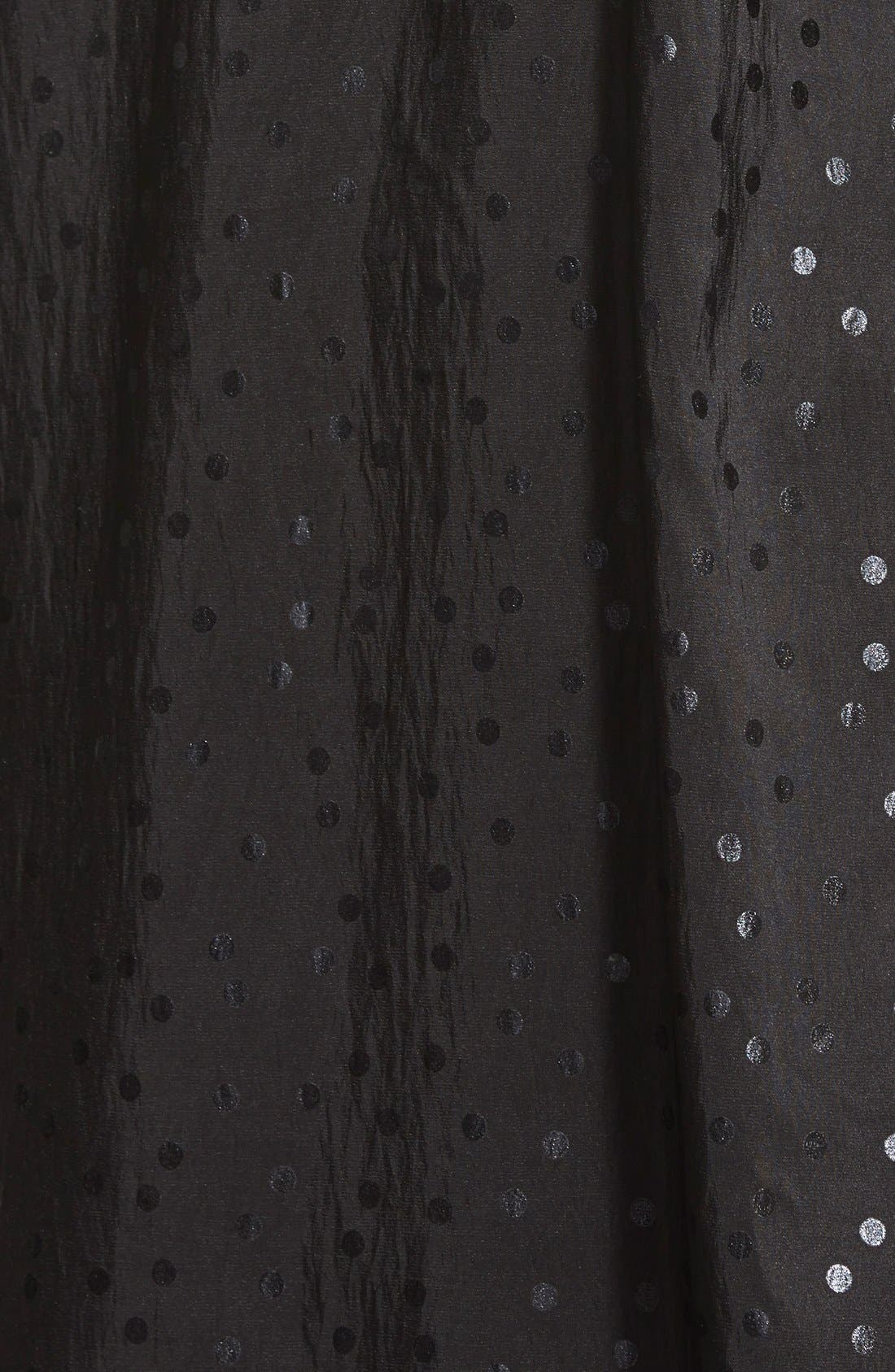'Donatella' Reversible Dot Pleat Hood Packable Travel Coat,                             Alternate thumbnail 9, color,                             017