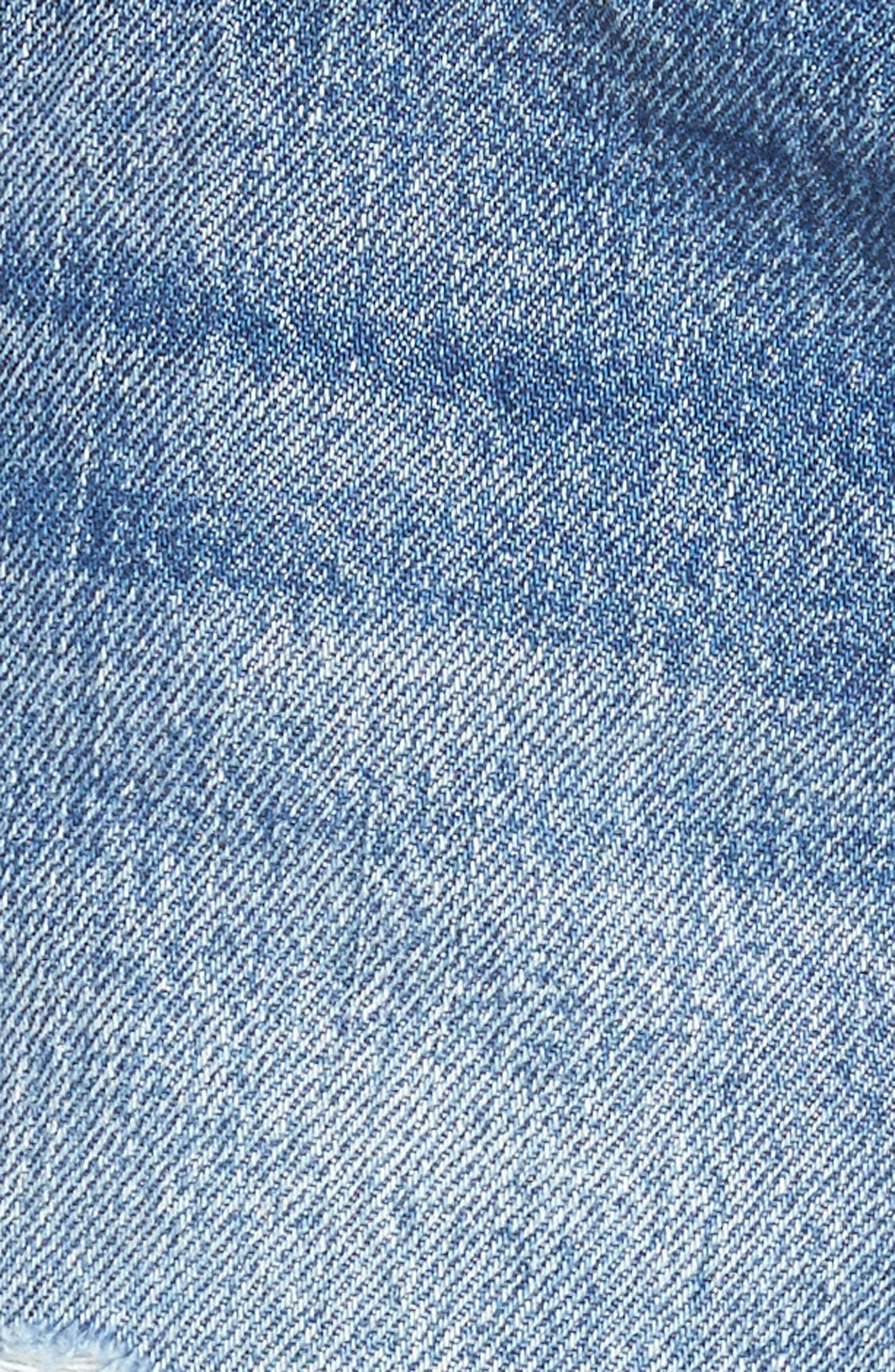 501<sup>®</sup> Cutoff Denim Shorts,                             Alternate thumbnail 6, color,                             BACK TO YOUR HEART