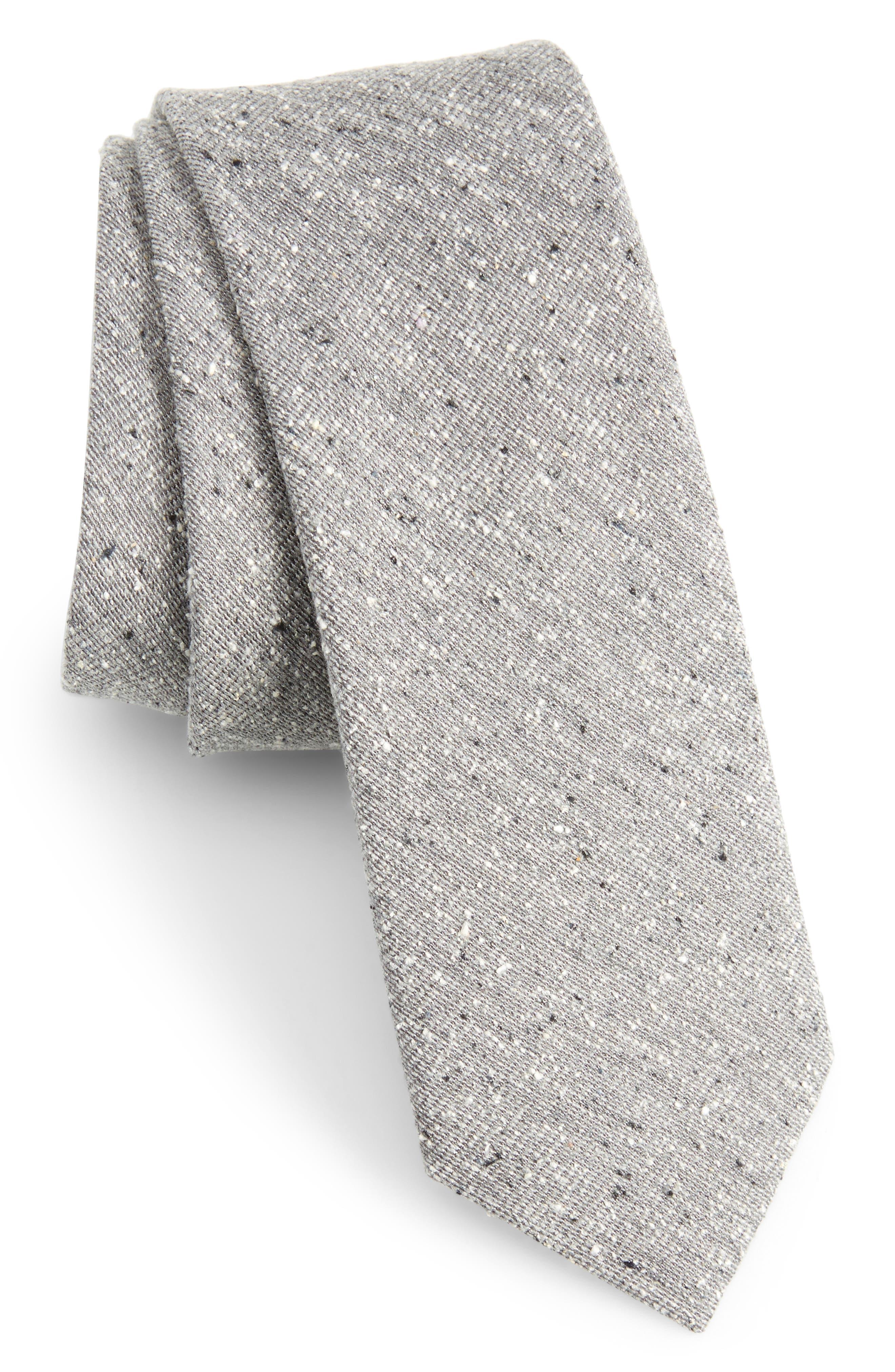 West Ridge Silk Skinny Tie,                             Main thumbnail 1, color,                             030