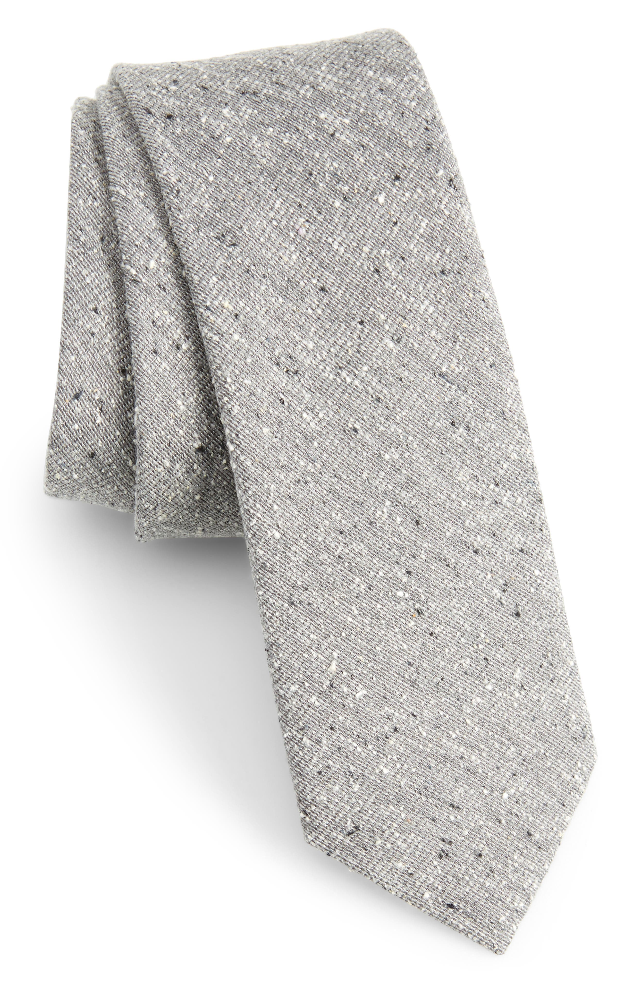West Ridge Silk Skinny Tie,                         Main,                         color, 030