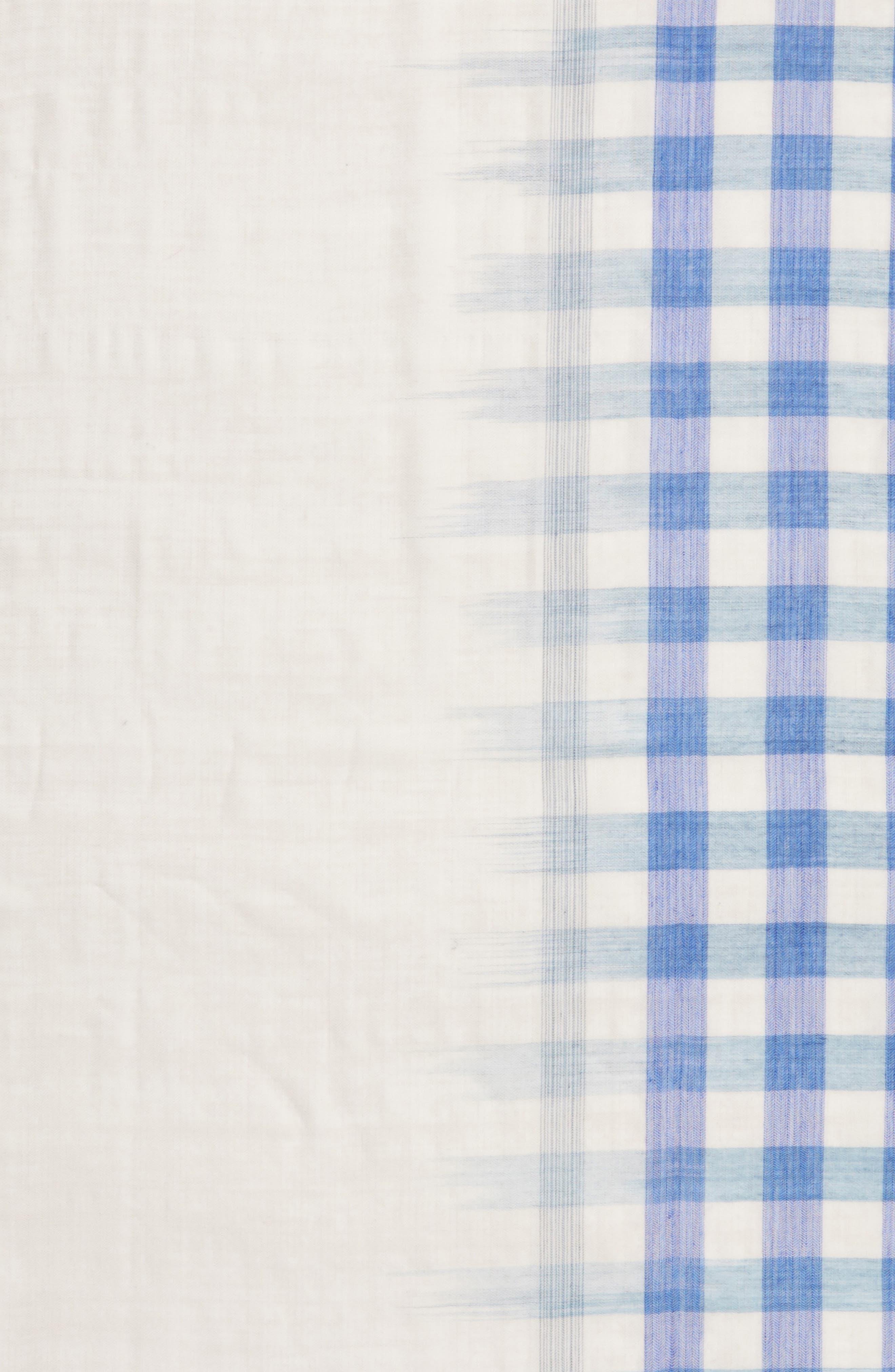 Plaid Wool Scarf,                             Alternate thumbnail 14, color,