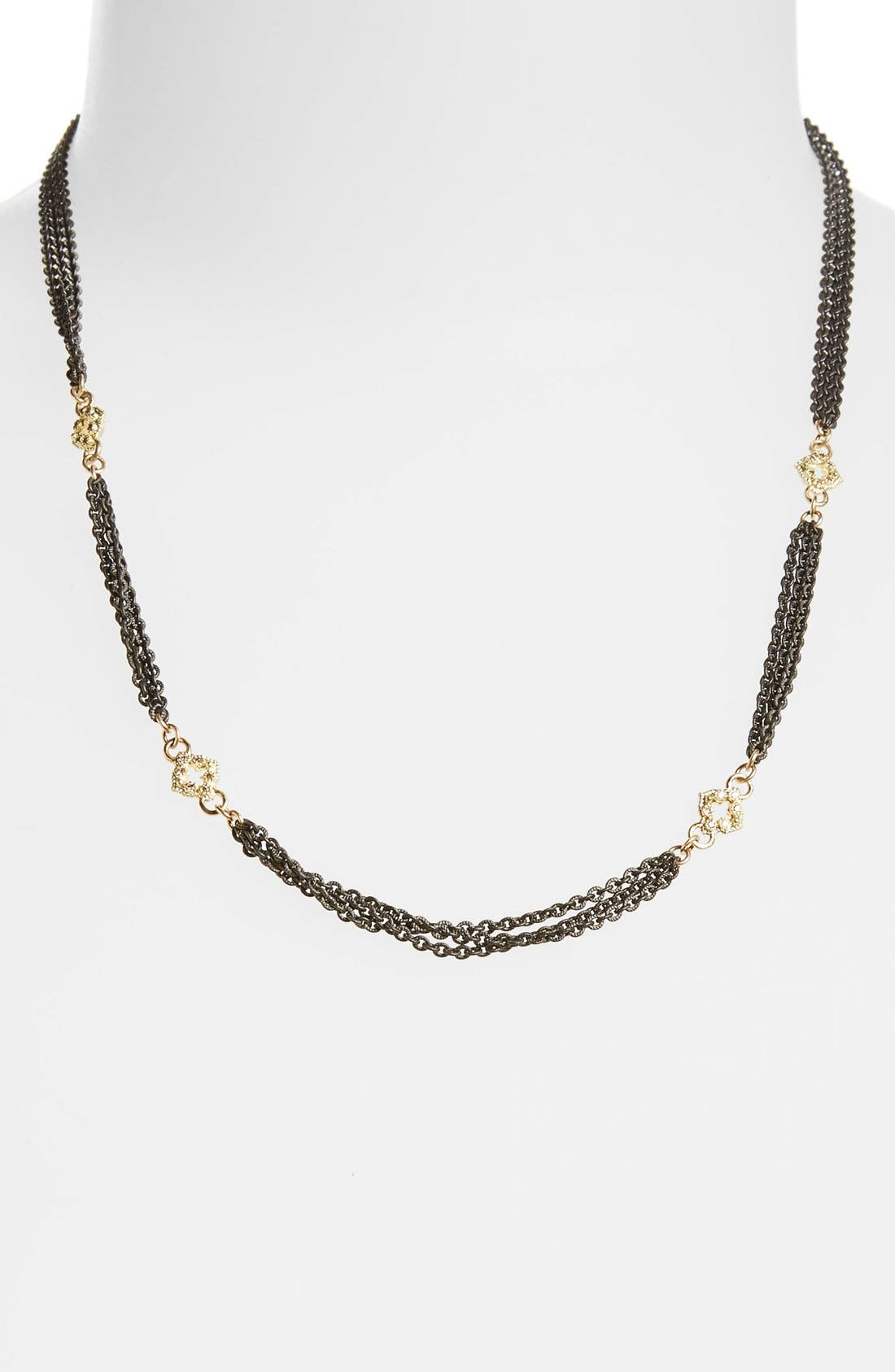 New World Strand Necklace,                             Alternate thumbnail 2, color,                             GOLD