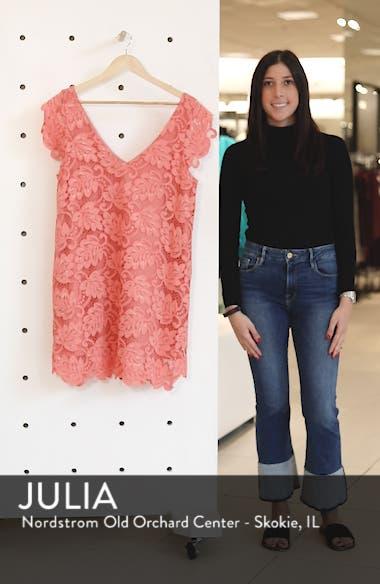 'Jacqueline' Lace Shift Dress, sales video thumbnail