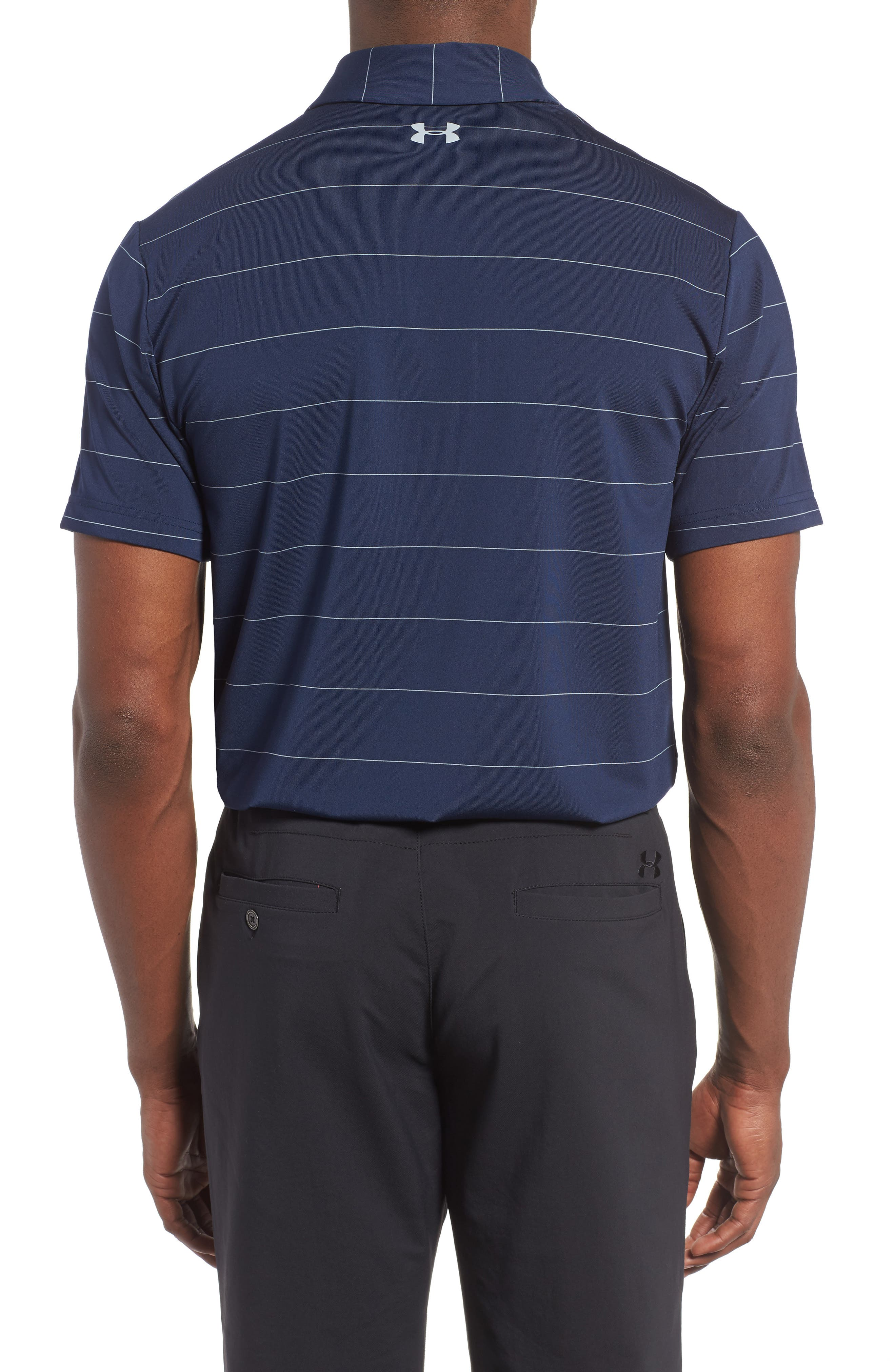 'Playoff' Loose Fit Short Sleeve Polo,                             Alternate thumbnail 91, color,