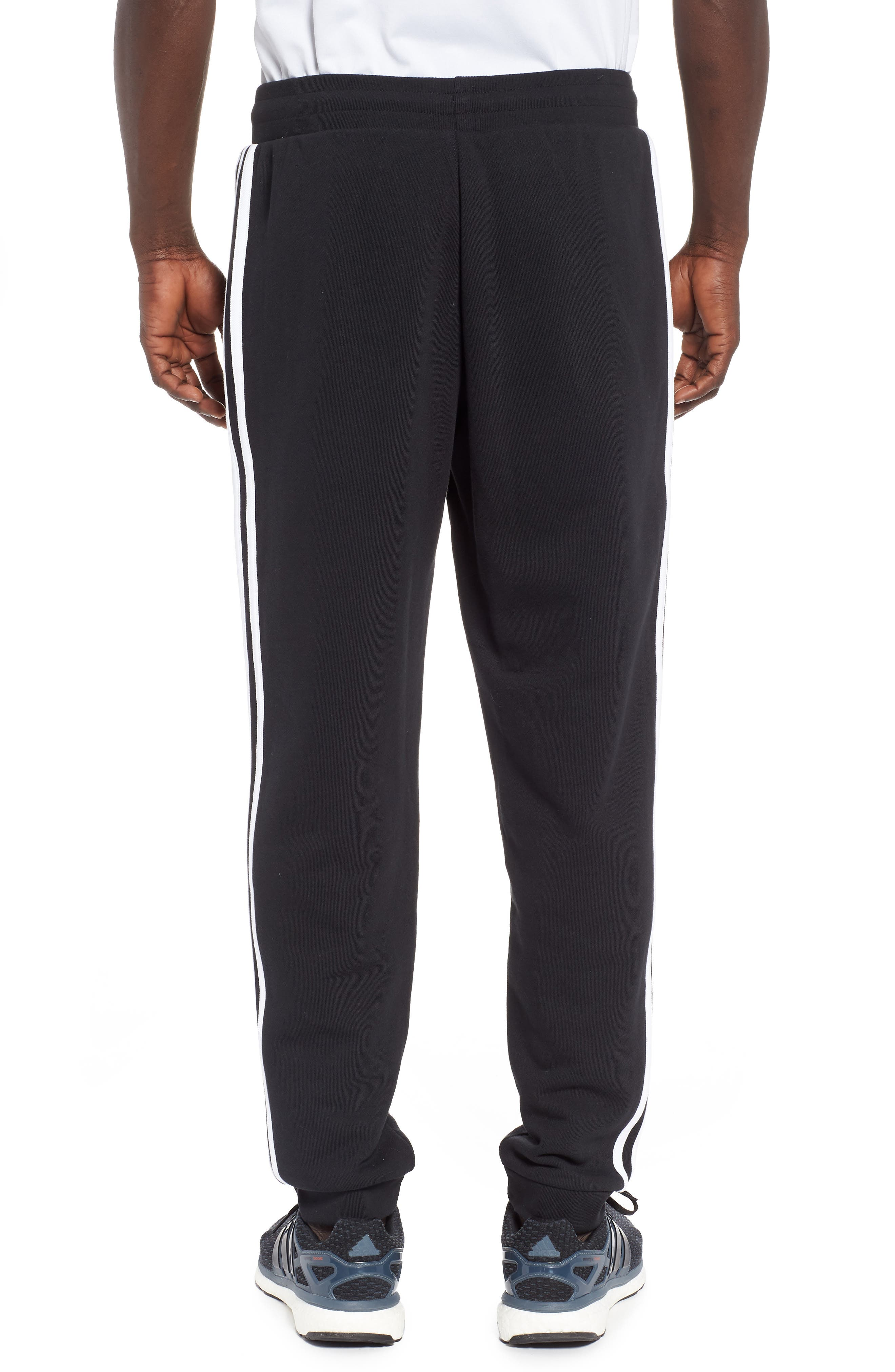 Adicolor Track Pants,                             Alternate thumbnail 2, color,                             BLACK