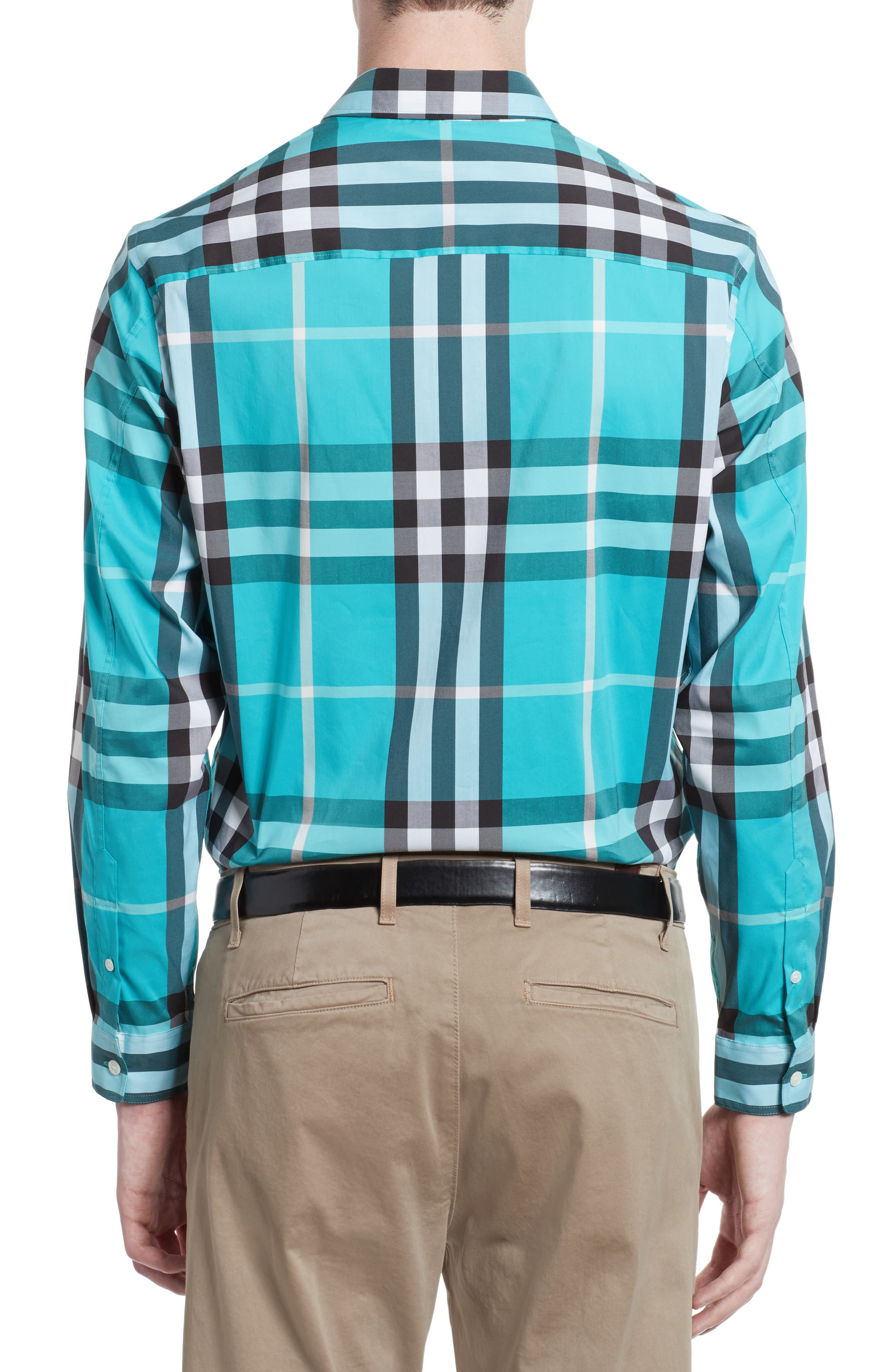 Nelson Check Sport Shirt,                             Alternate thumbnail 38, color,