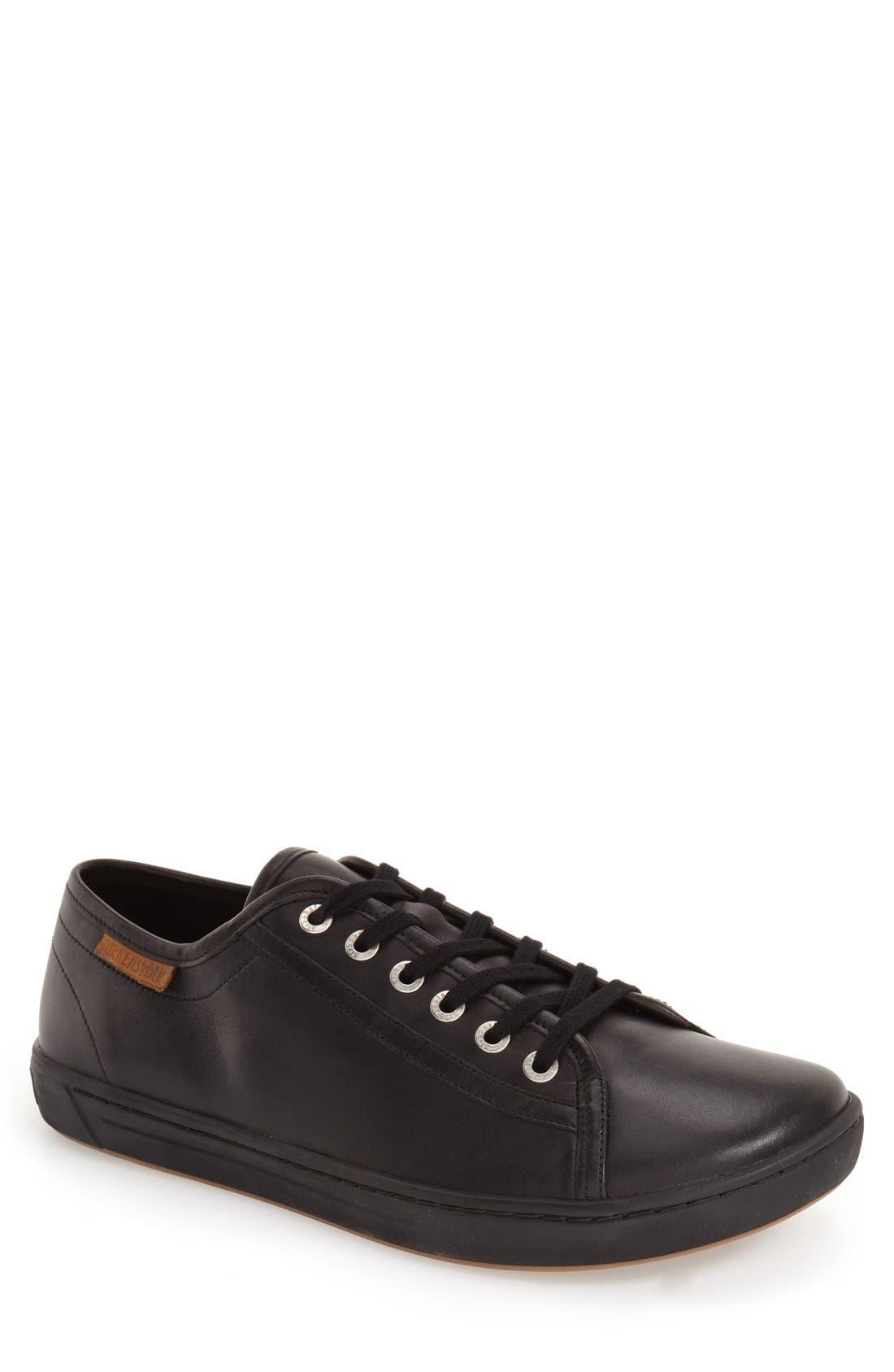 BIRKENSTOCK,                             'Arran' Sneaker,                             Main thumbnail 1, color,                             BLACK