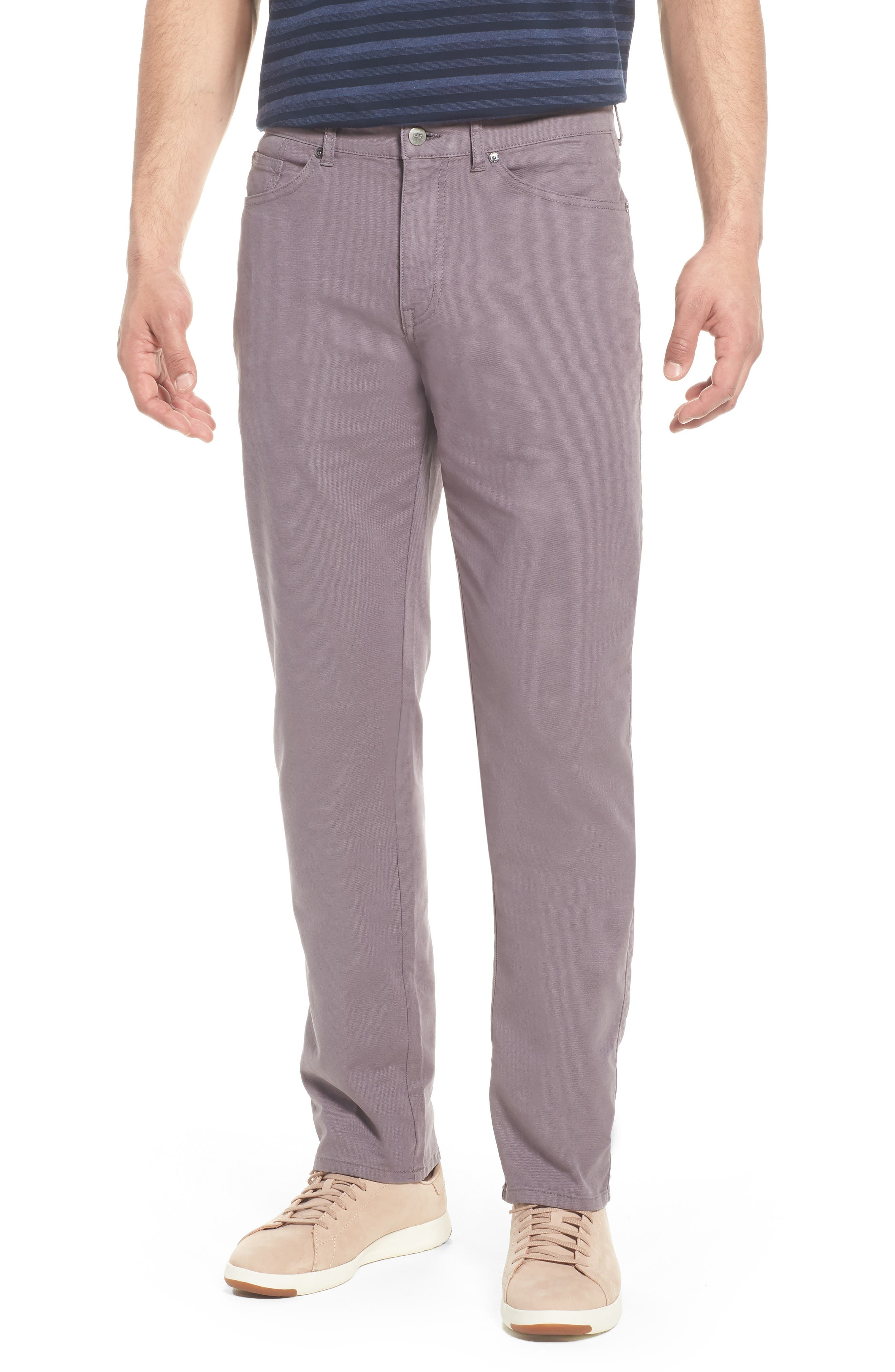 Crown Vintage Canvas Pants,                         Main,                         color, MID GREY