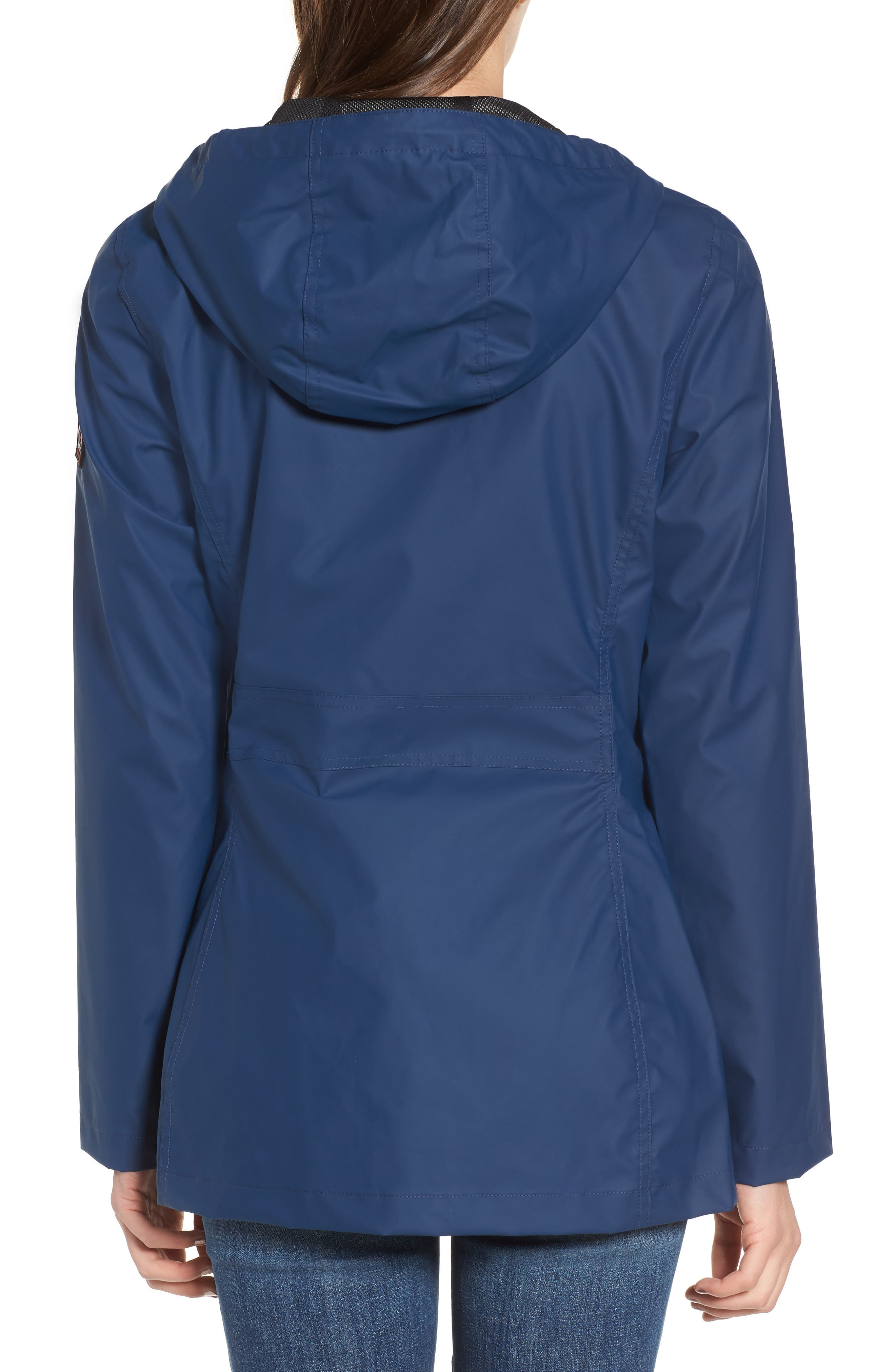 Hooded Raincoat,                             Alternate thumbnail 8, color,
