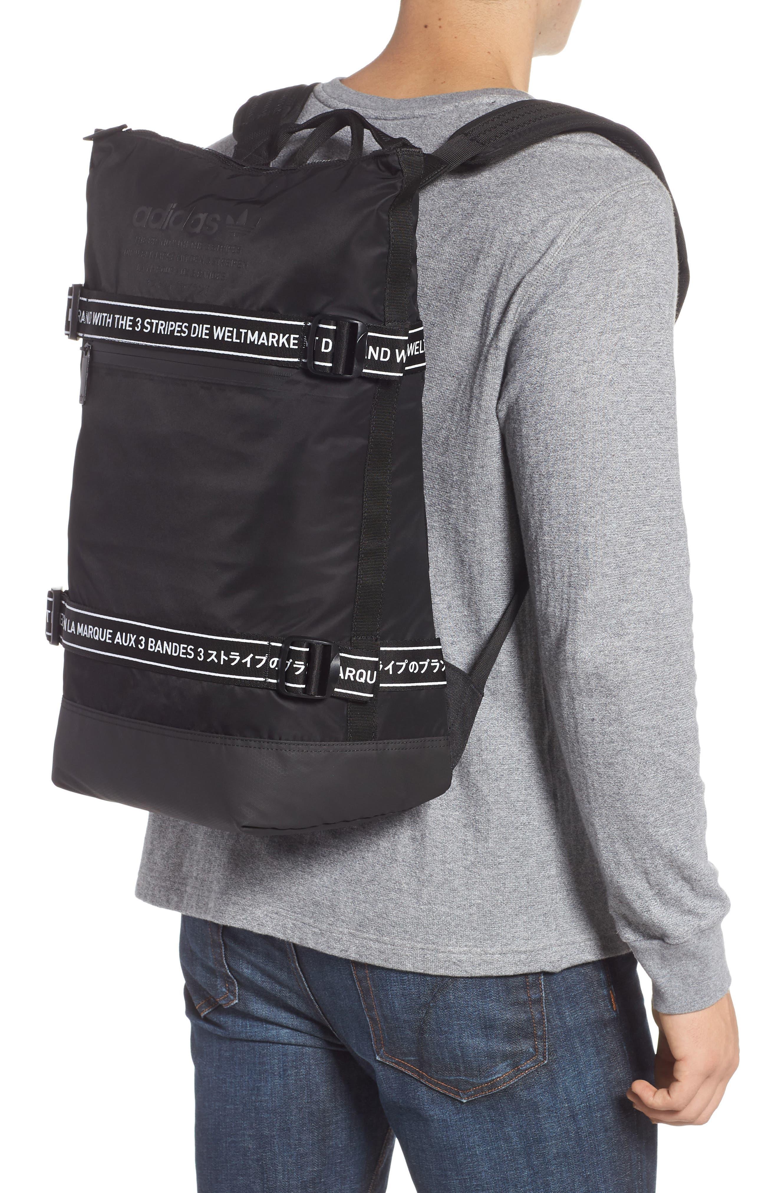adidas NMD Backpack,                             Alternate thumbnail 2, color,                             BLACK