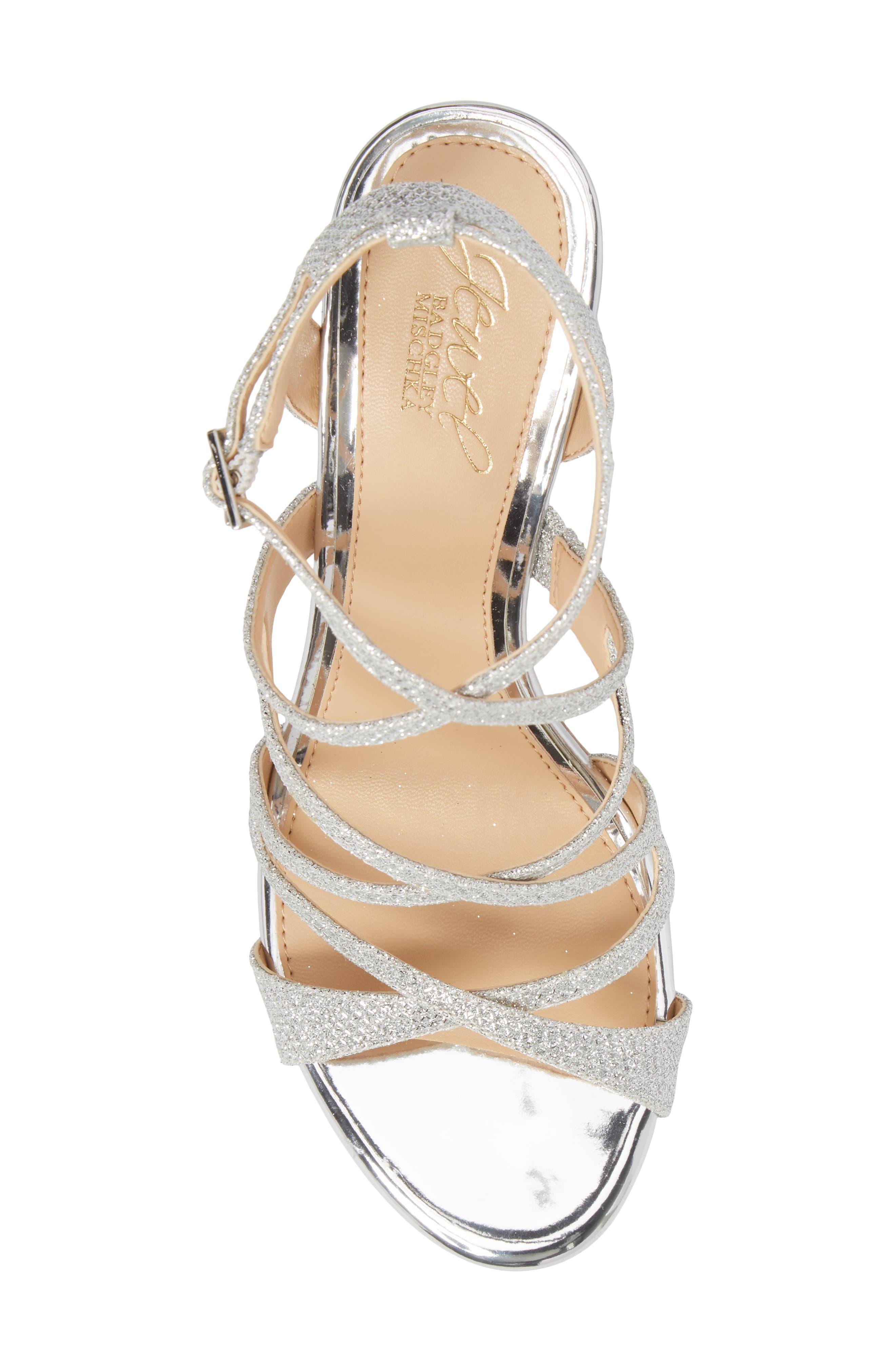 Tasha Glitter Sandal,                             Alternate thumbnail 5, color,                             043