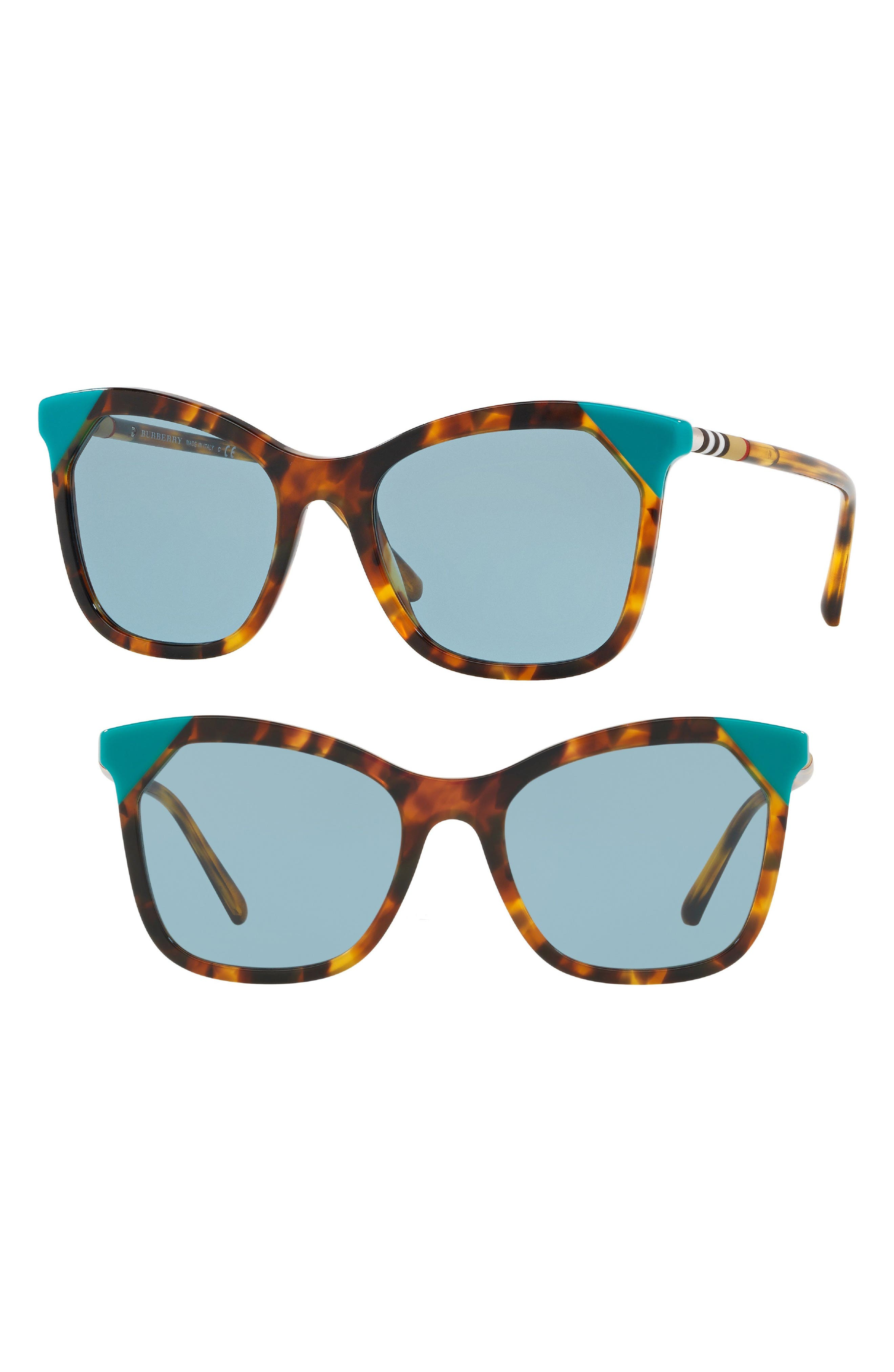 Heritage 54mm Square Sunglasses,                             Main thumbnail 2, color,